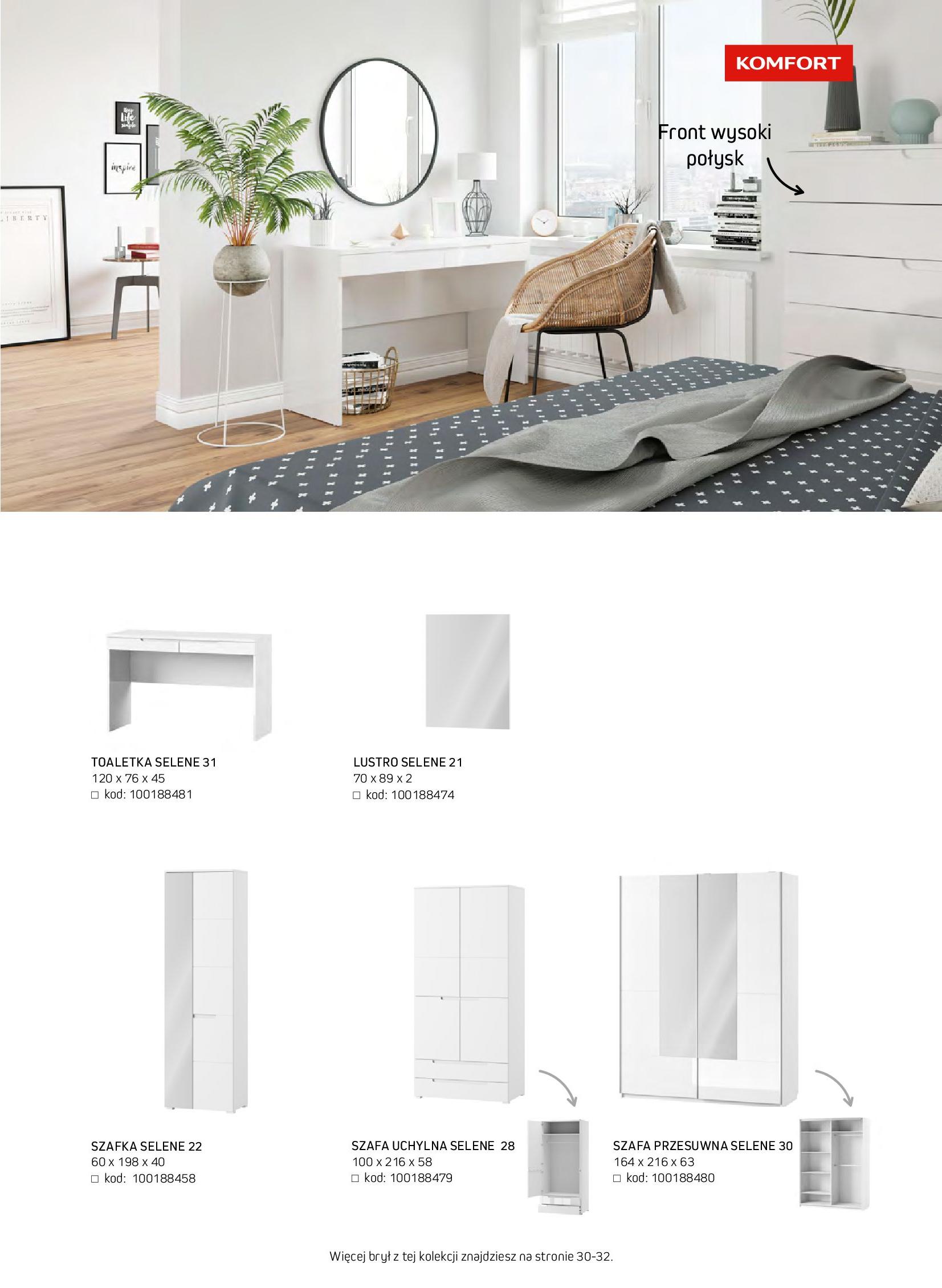 Gazetka Komfort: Gazetka komfort - Meble i oświetlenie 2021-08-26 page-55