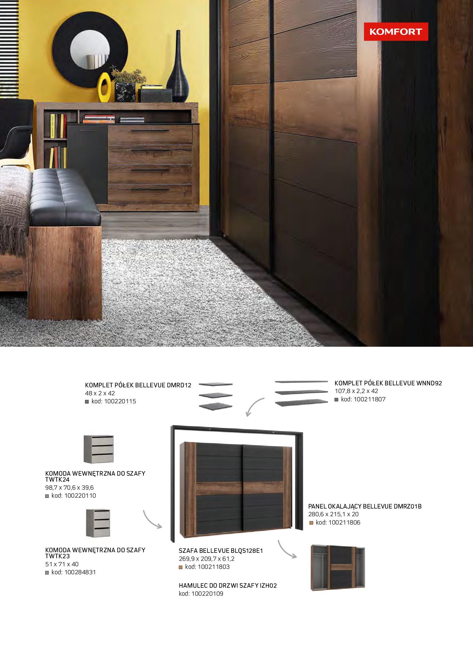 Gazetka Komfort: Gazetka komfort - Meble i oświetlenie 2021-08-26 page-57