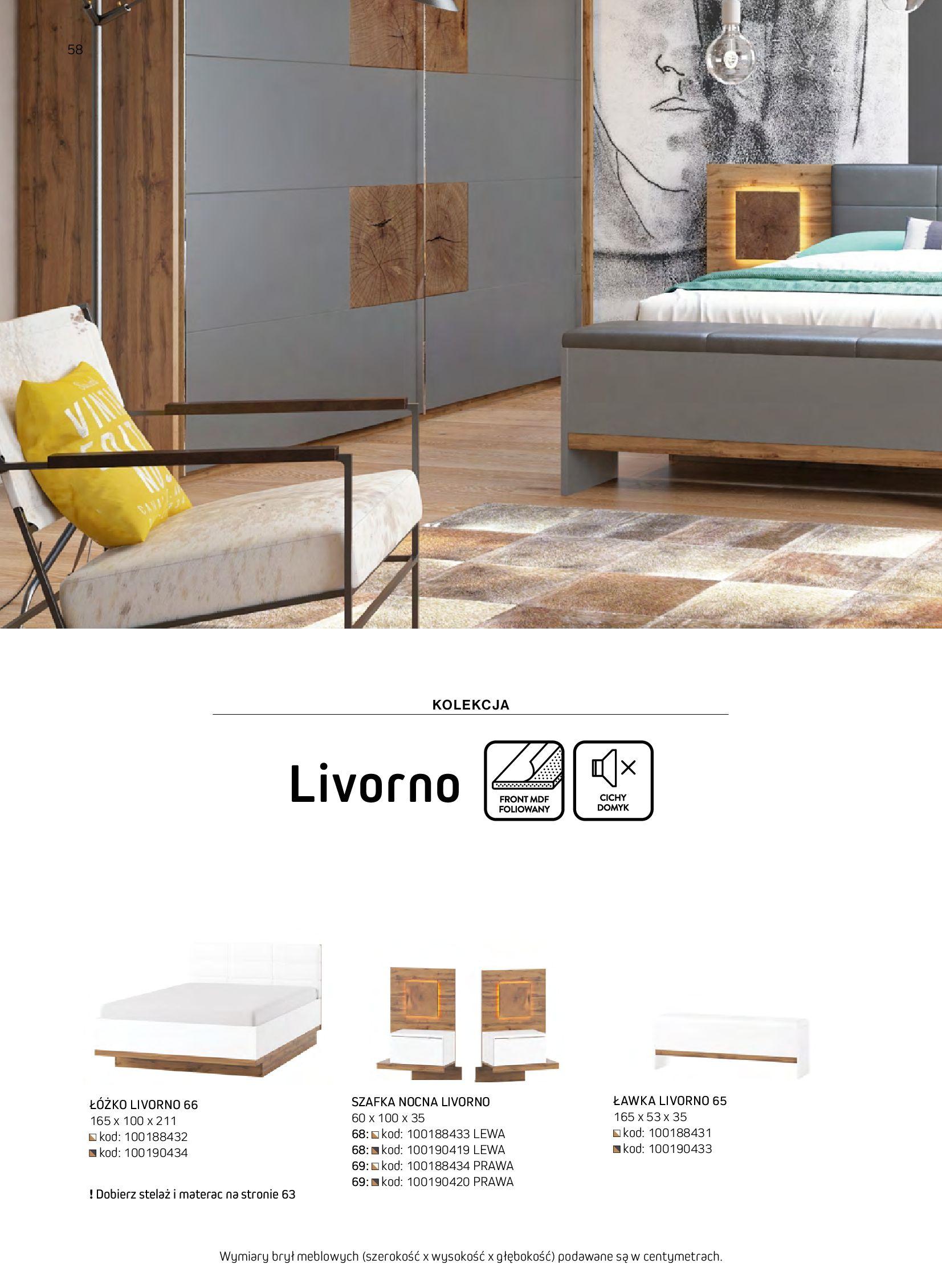 Gazetka Komfort: Gazetka komfort - Meble i oświetlenie 2021-08-26 page-58