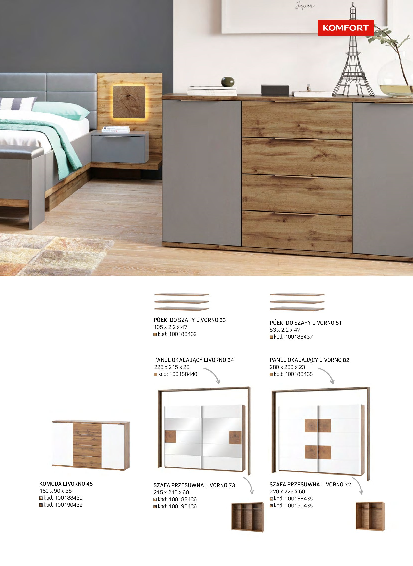 Gazetka Komfort: Gazetka komfort - Meble i oświetlenie 2021-08-26 page-59