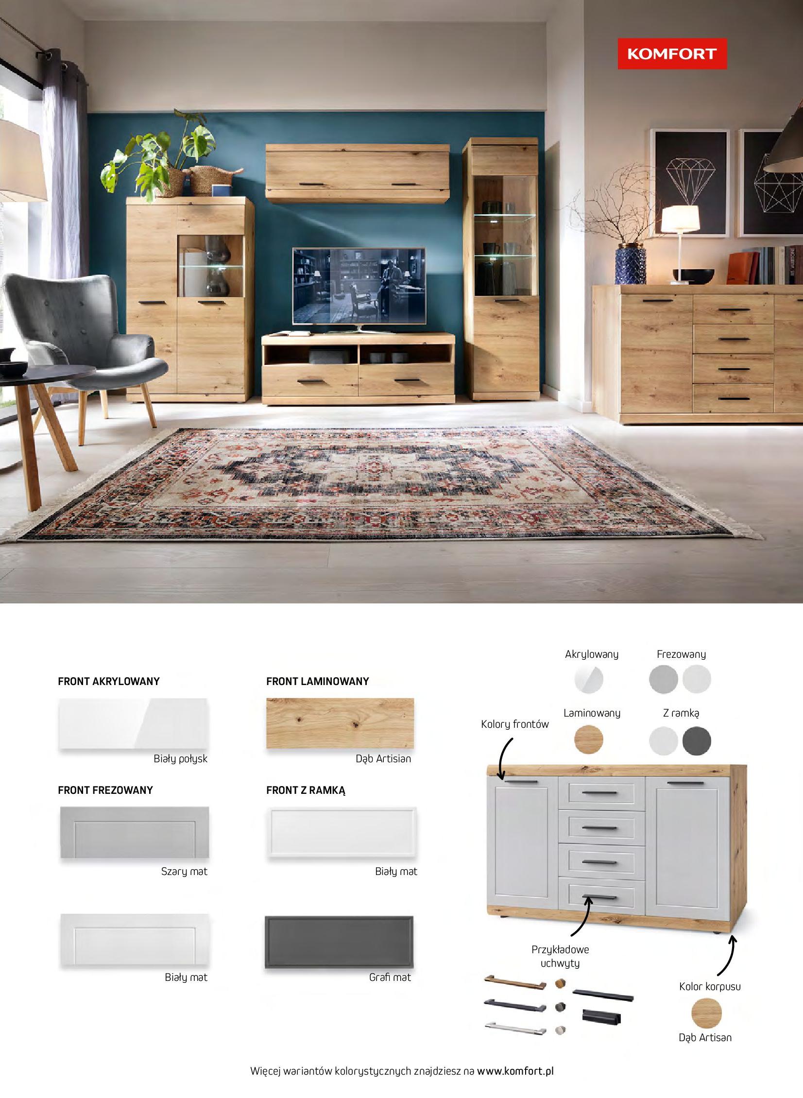 Gazetka Komfort: Gazetka komfort - Meble i oświetlenie 2021-08-26 page-7