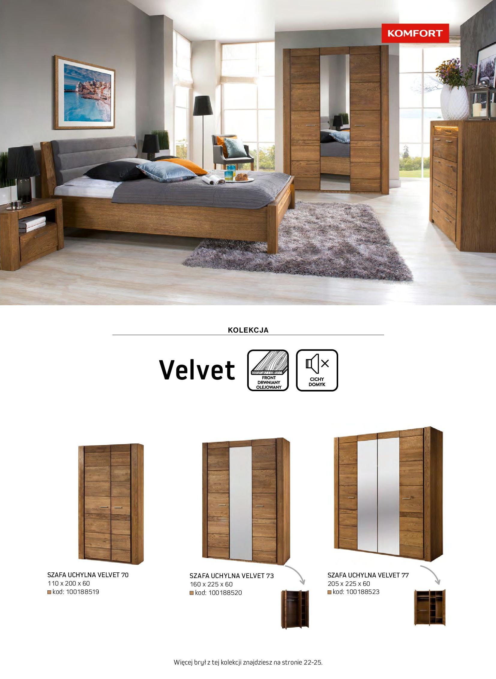 Gazetka Komfort: Gazetka komfort - Meble i oświetlenie 2021-08-26 page-61