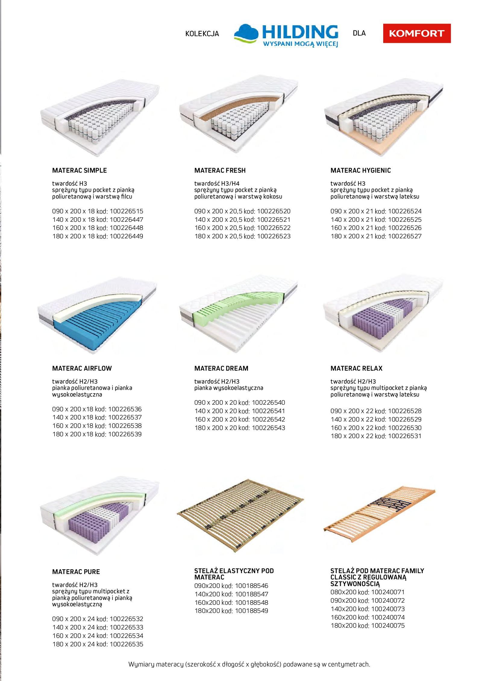 Gazetka Komfort: Gazetka komfort - Meble i oświetlenie 2021-08-26 page-63