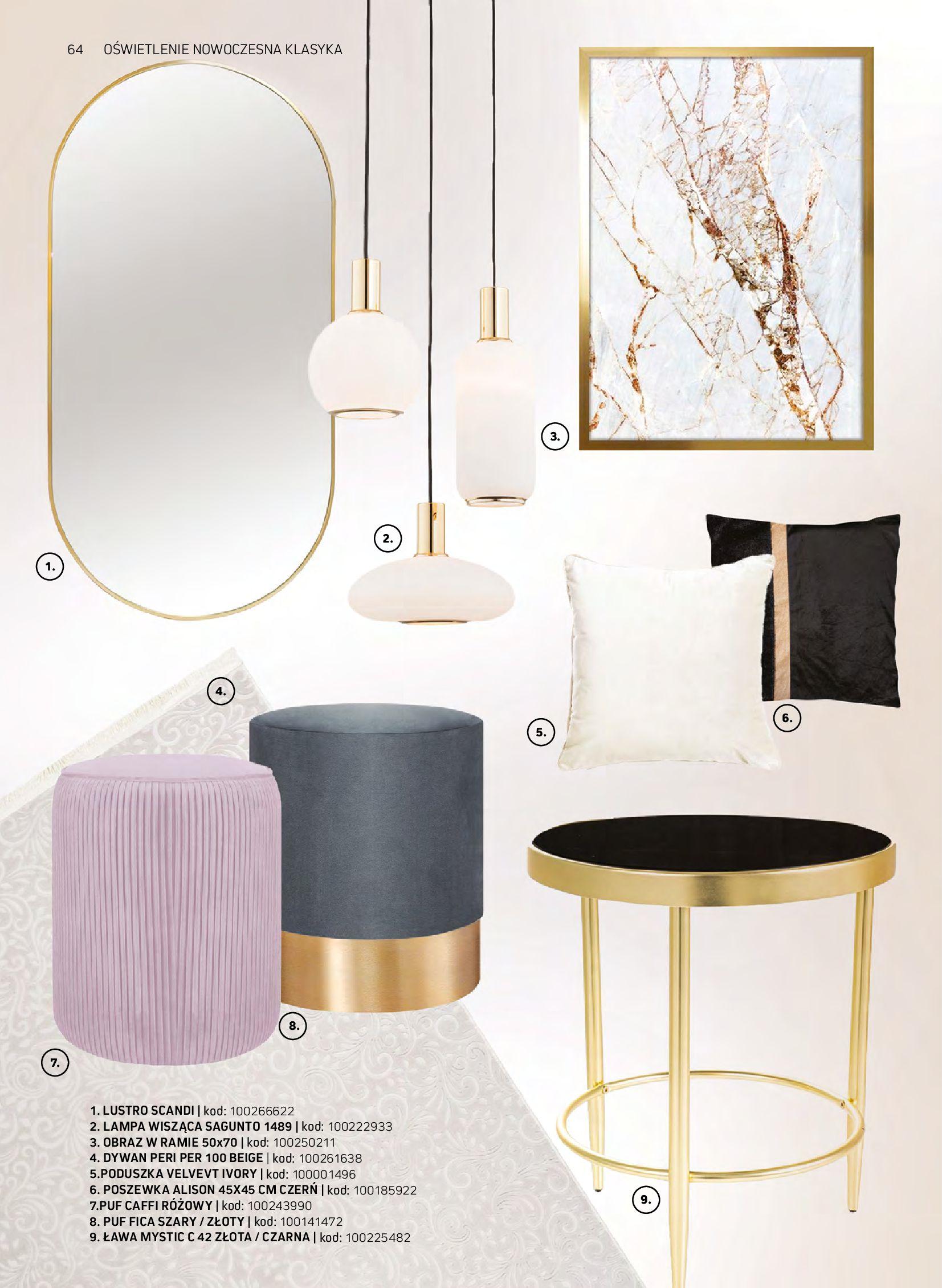 Gazetka Komfort: Gazetka komfort - Meble i oświetlenie 2021-08-26 page-64