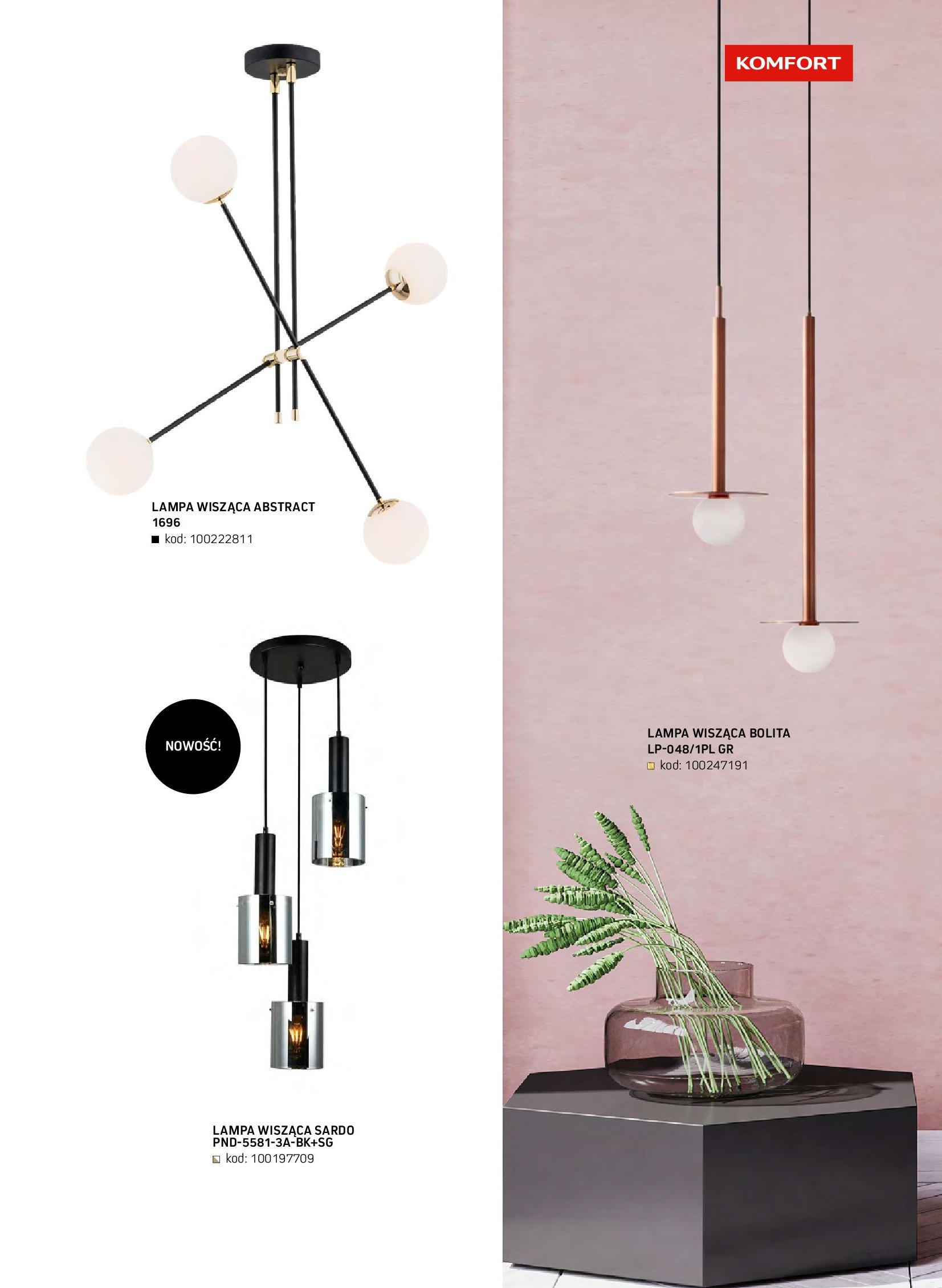 Gazetka Komfort: Gazetka komfort - Meble i oświetlenie 2021-08-26 page-73