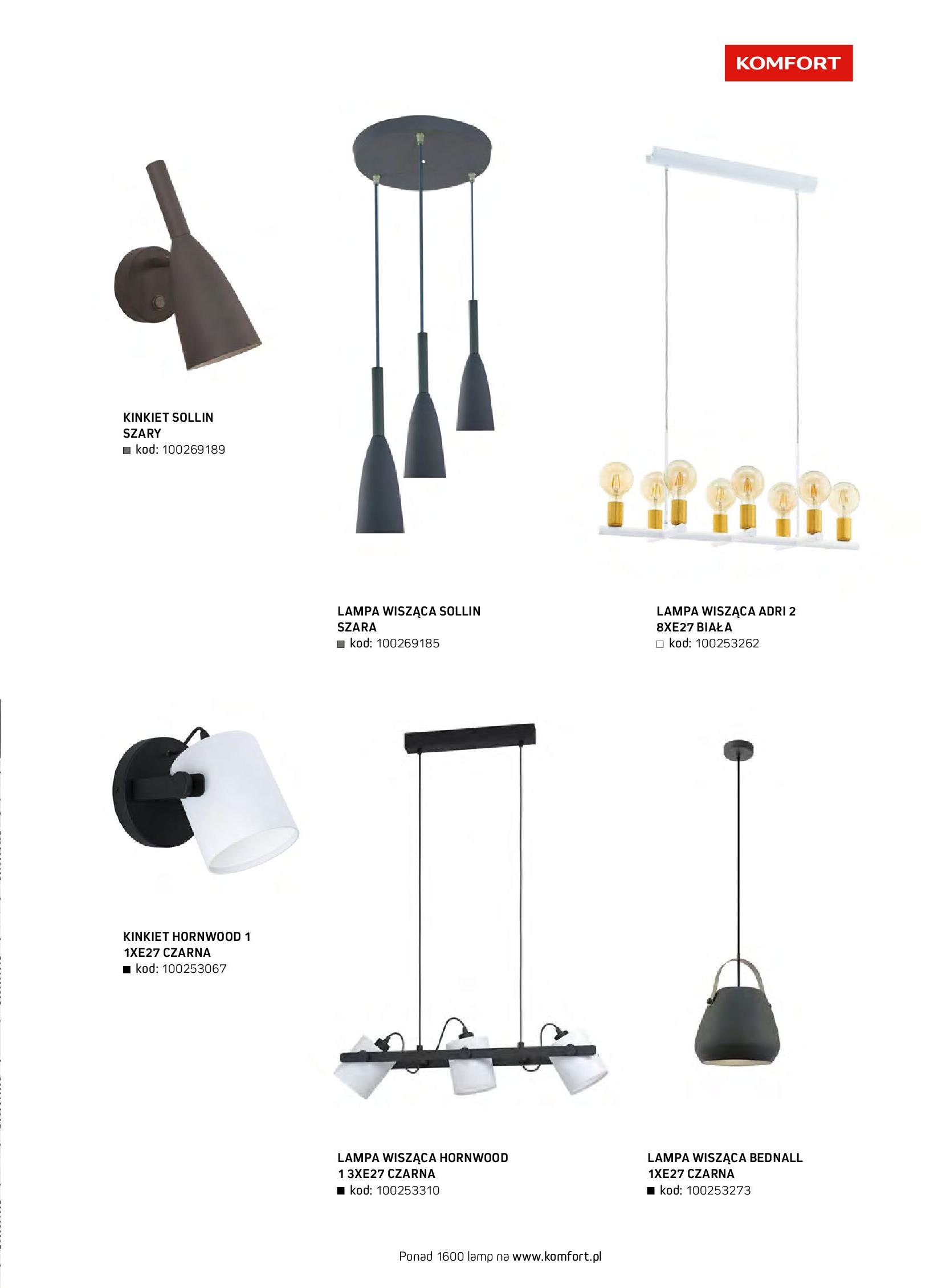 Gazetka Komfort: Gazetka komfort - Meble i oświetlenie 2021-08-26 page-75