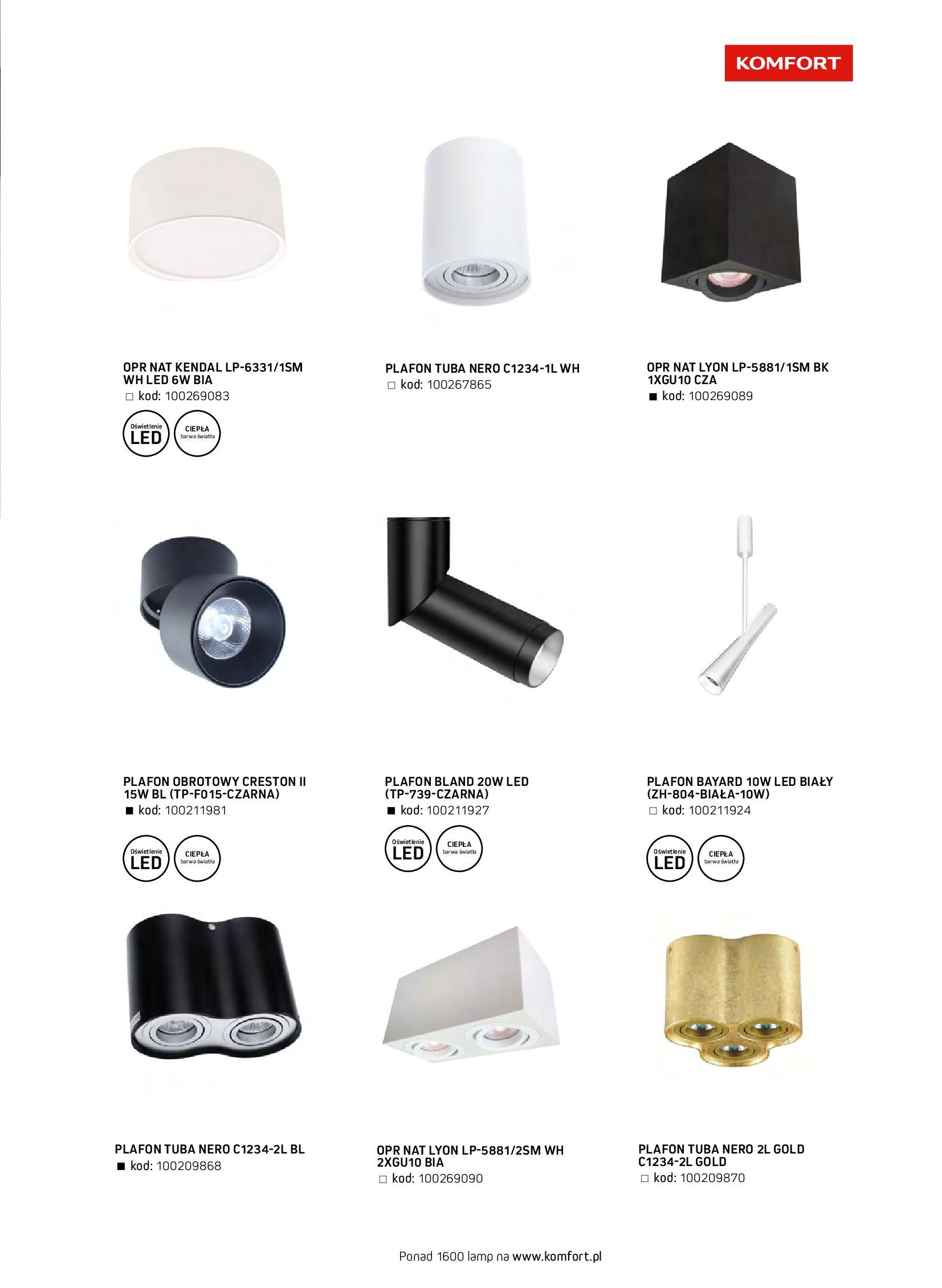 Gazetka Komfort: Gazetka komfort - Meble i oświetlenie 2021-08-26 page-79
