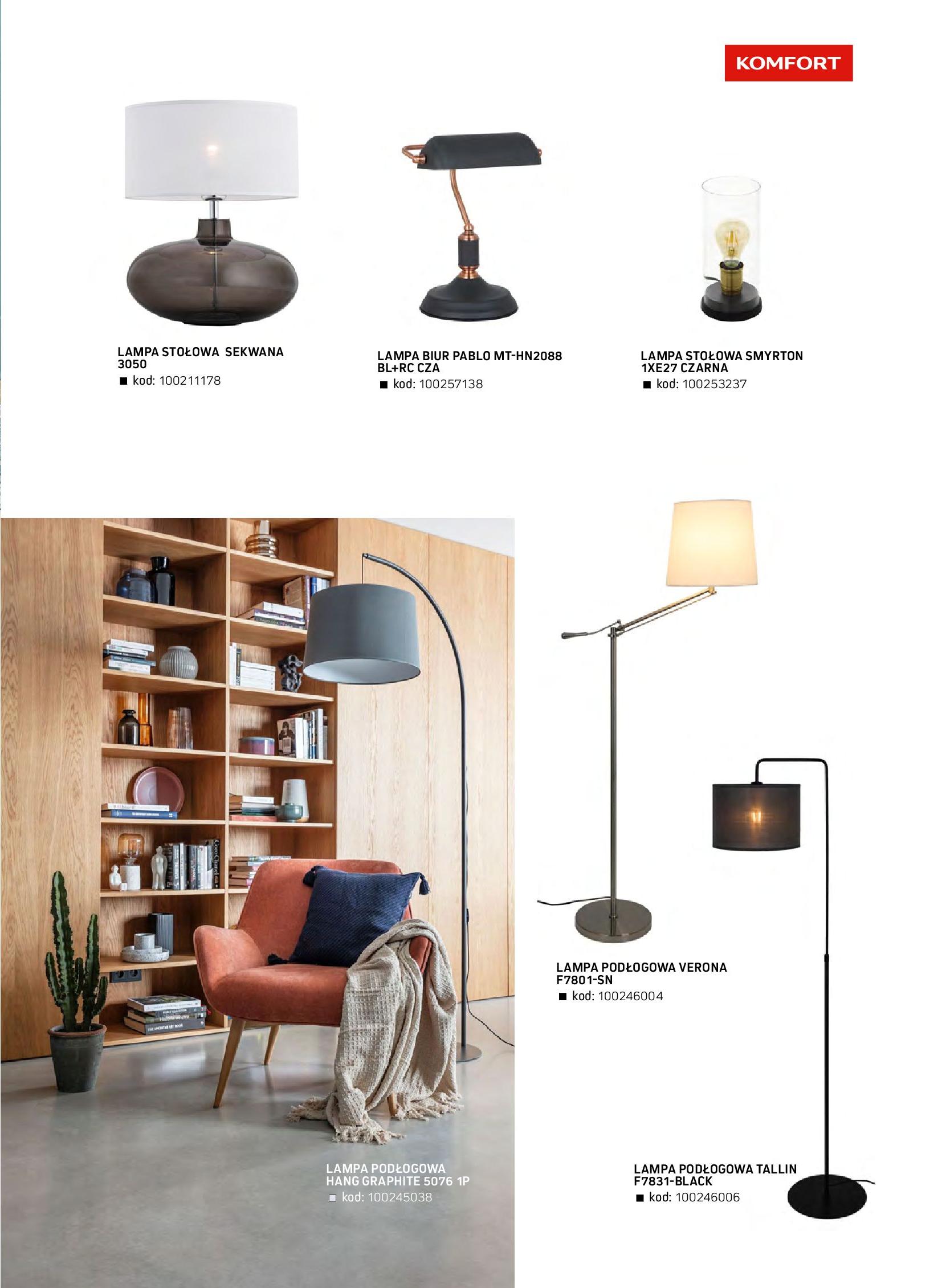 Gazetka Komfort: Gazetka komfort - Meble i oświetlenie 2021-08-26 page-81