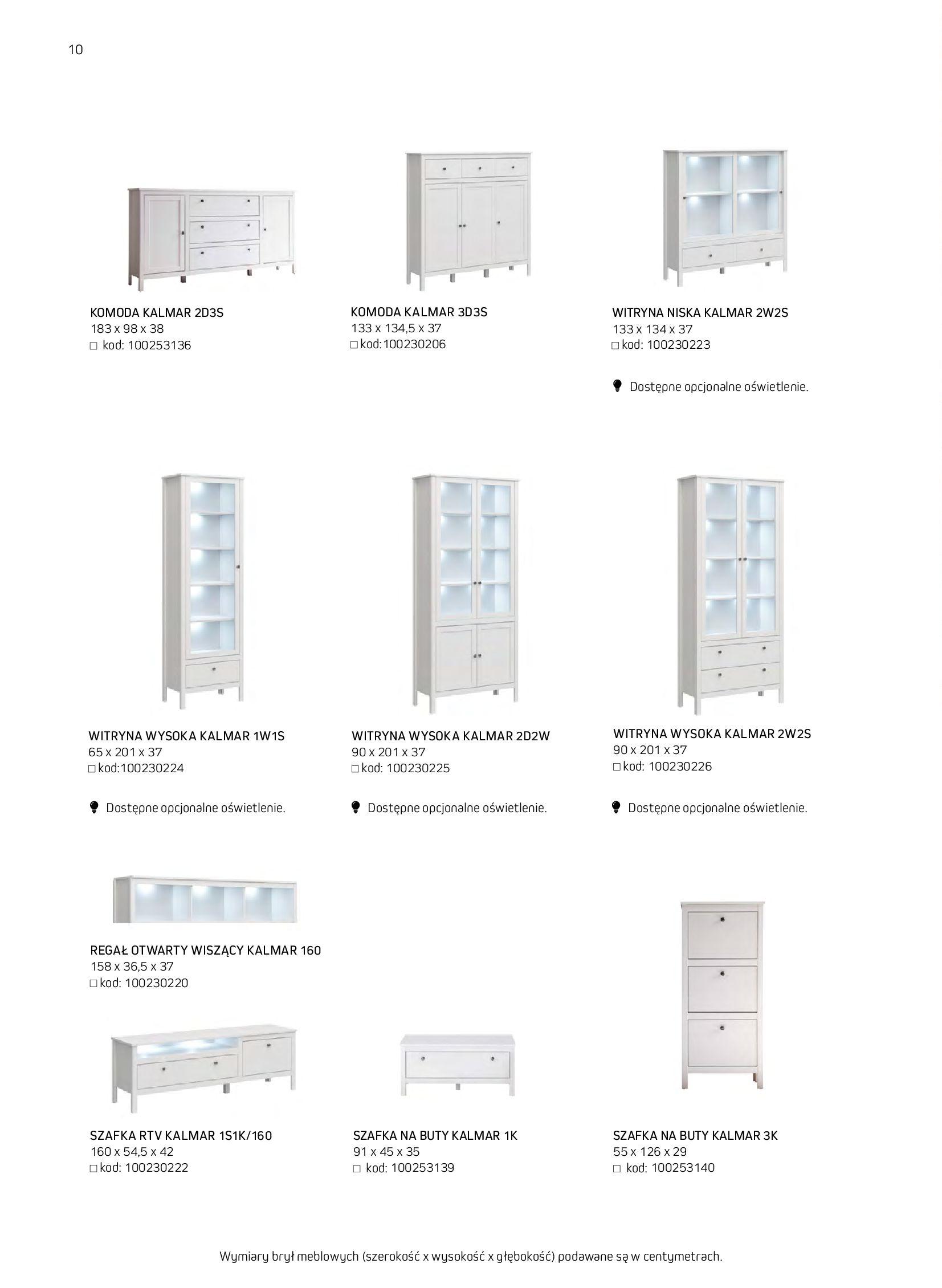 Gazetka Komfort: Gazetka komfort - Meble i oświetlenie 2021-08-26 page-10