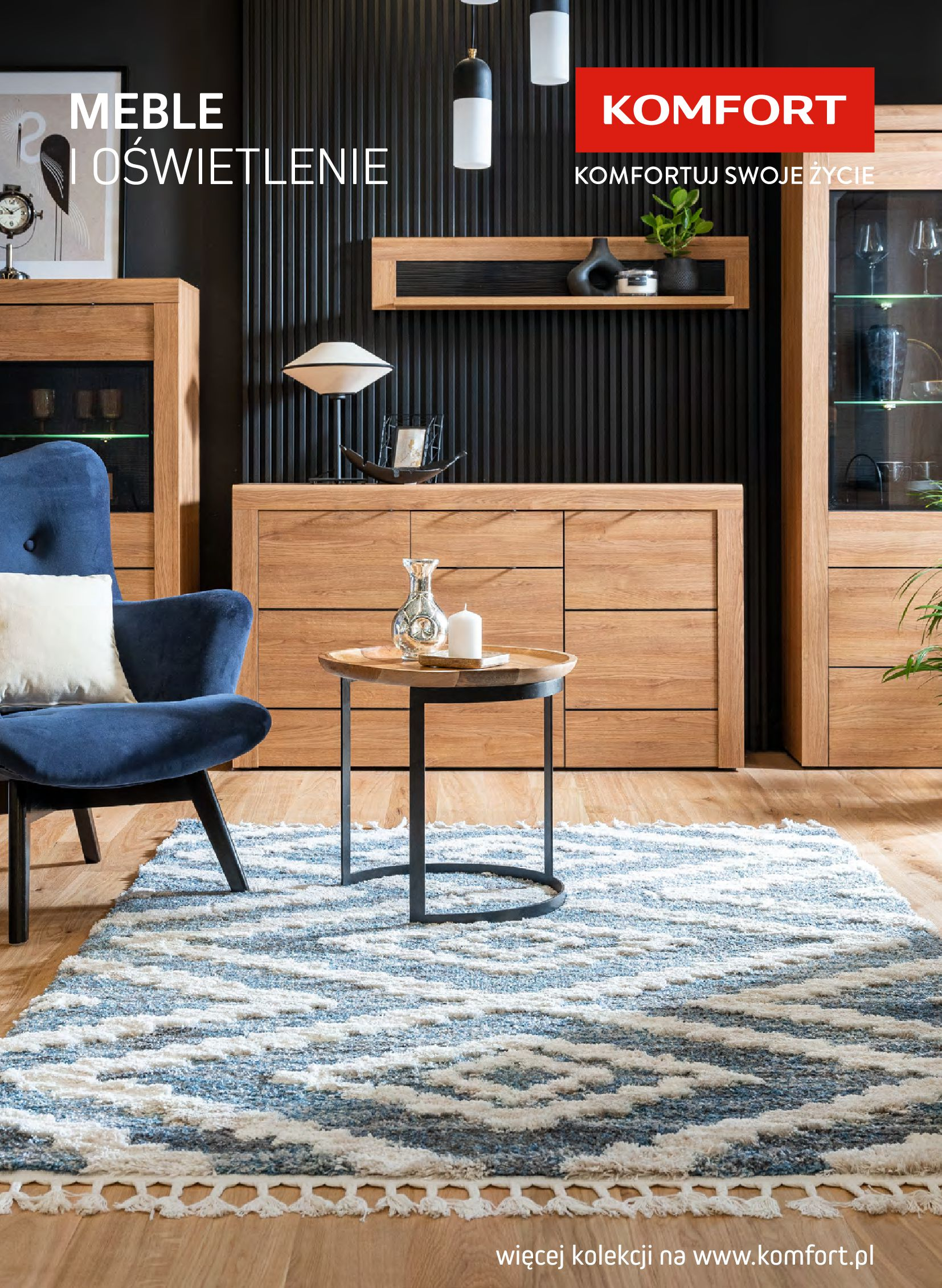 Komfort:  Gazetka komfort - Meble i oświetlenie 25.08.2021