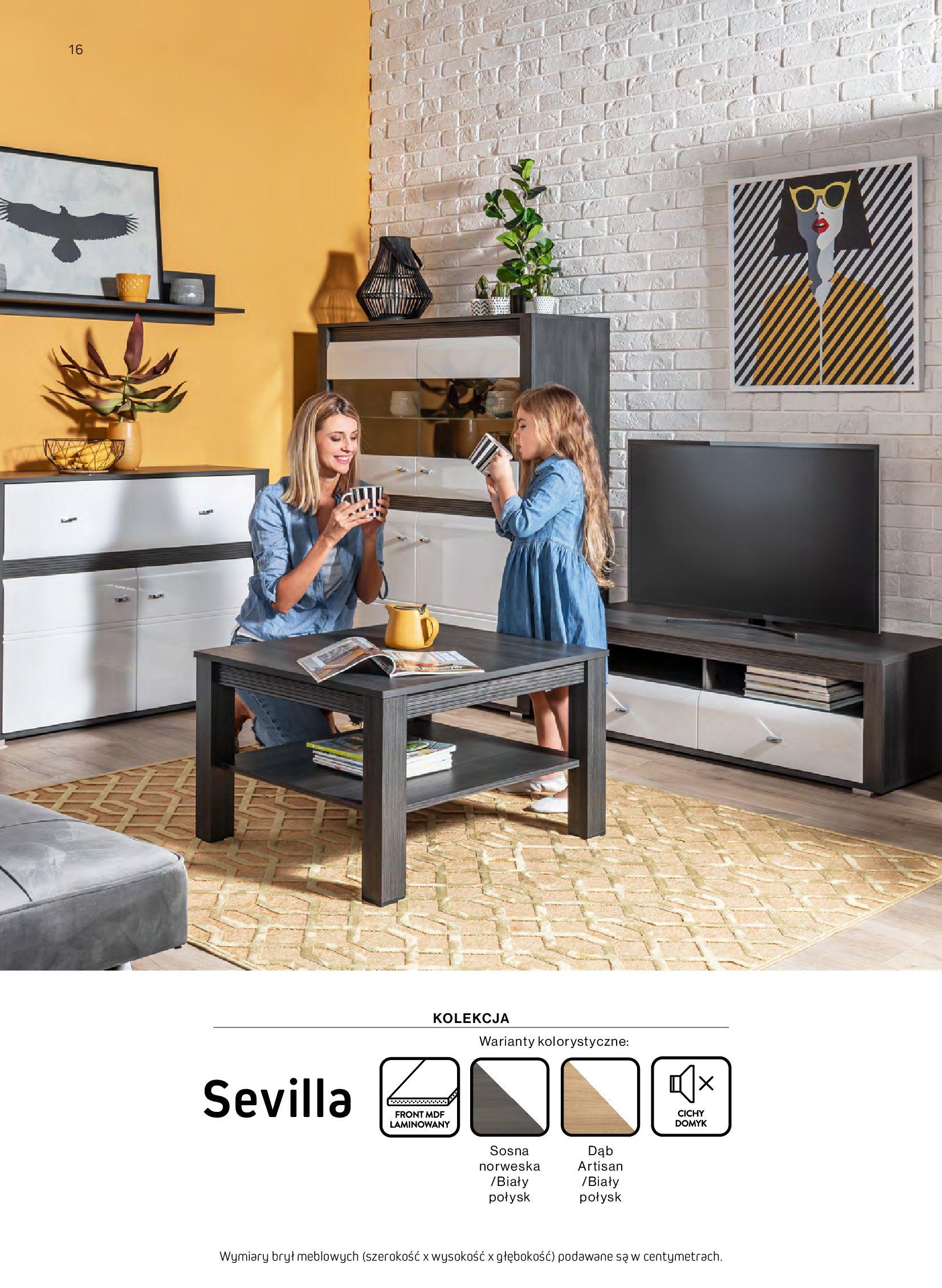 Gazetka Komfort: Gazetka komfort - Meble i oświetlenie 2021-08-26 page-16
