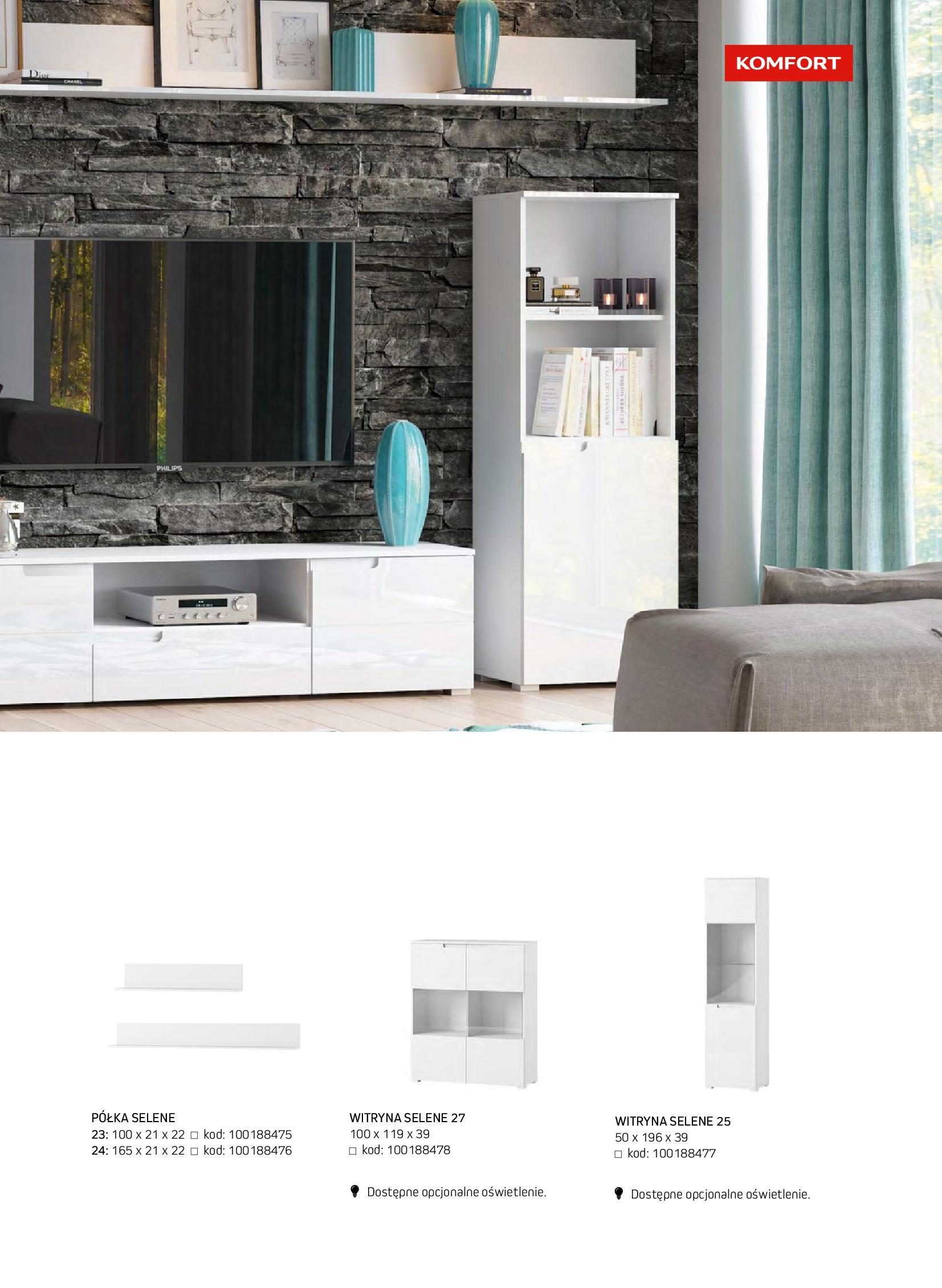 Gazetka Komfort: Gazetka komfort - Meble i oświetlenie 2021-08-26 page-31