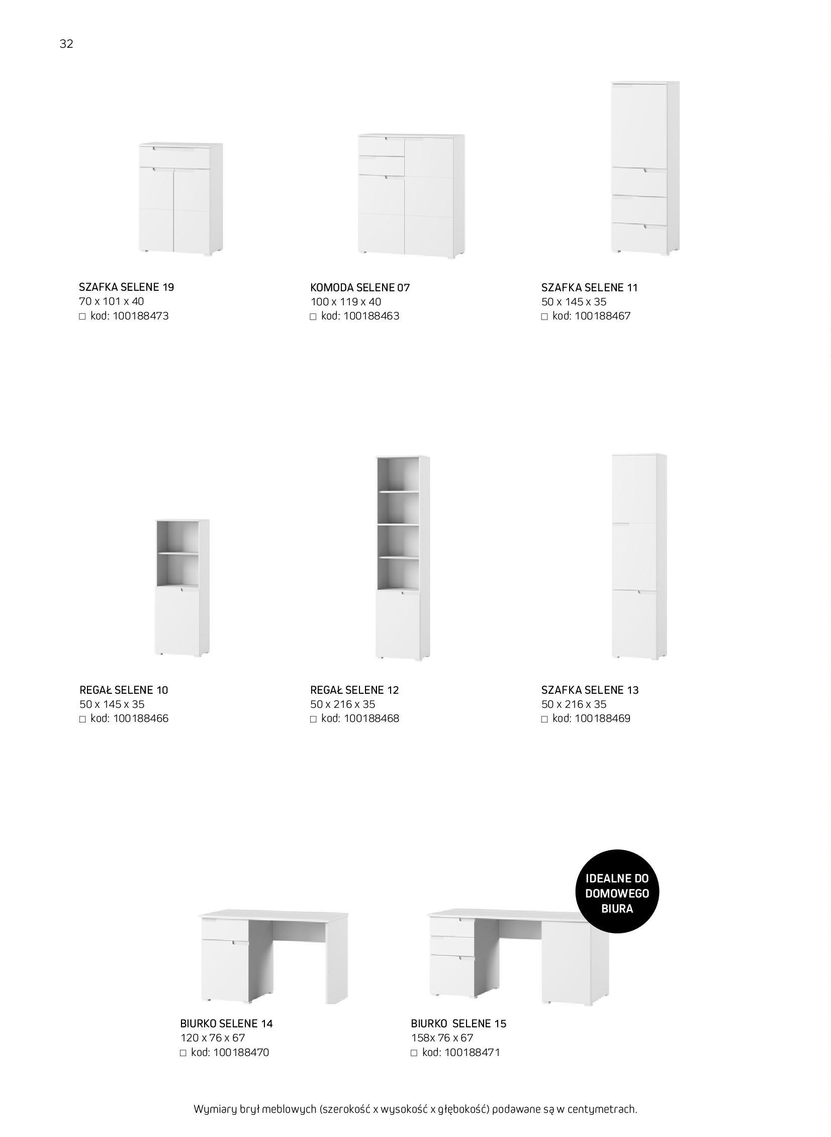Gazetka Komfort: Gazetka komfort - Meble i oświetlenie 2021-08-26 page-32
