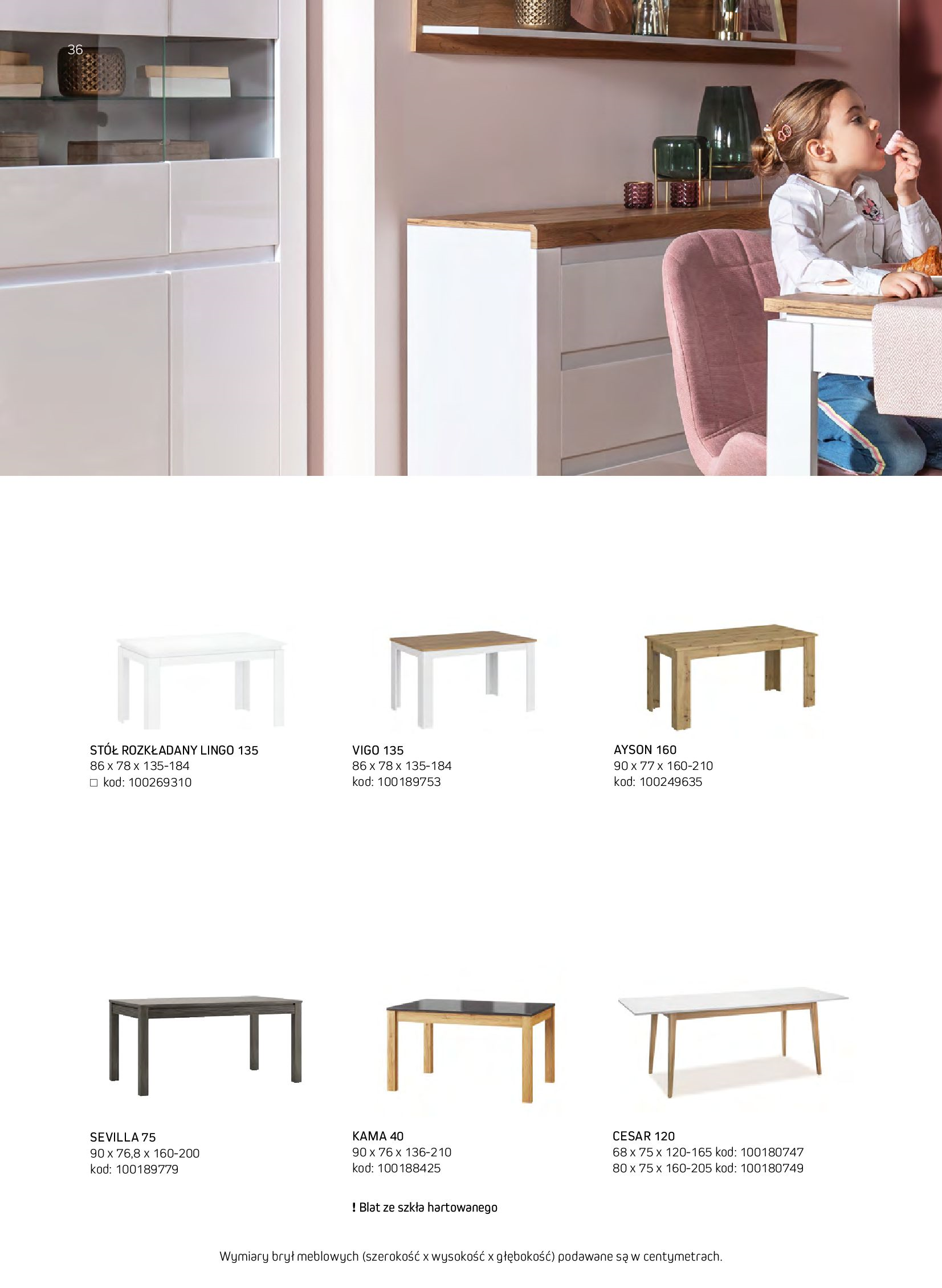 Gazetka Komfort: Gazetka komfort - Meble i oświetlenie 2021-08-26 page-36