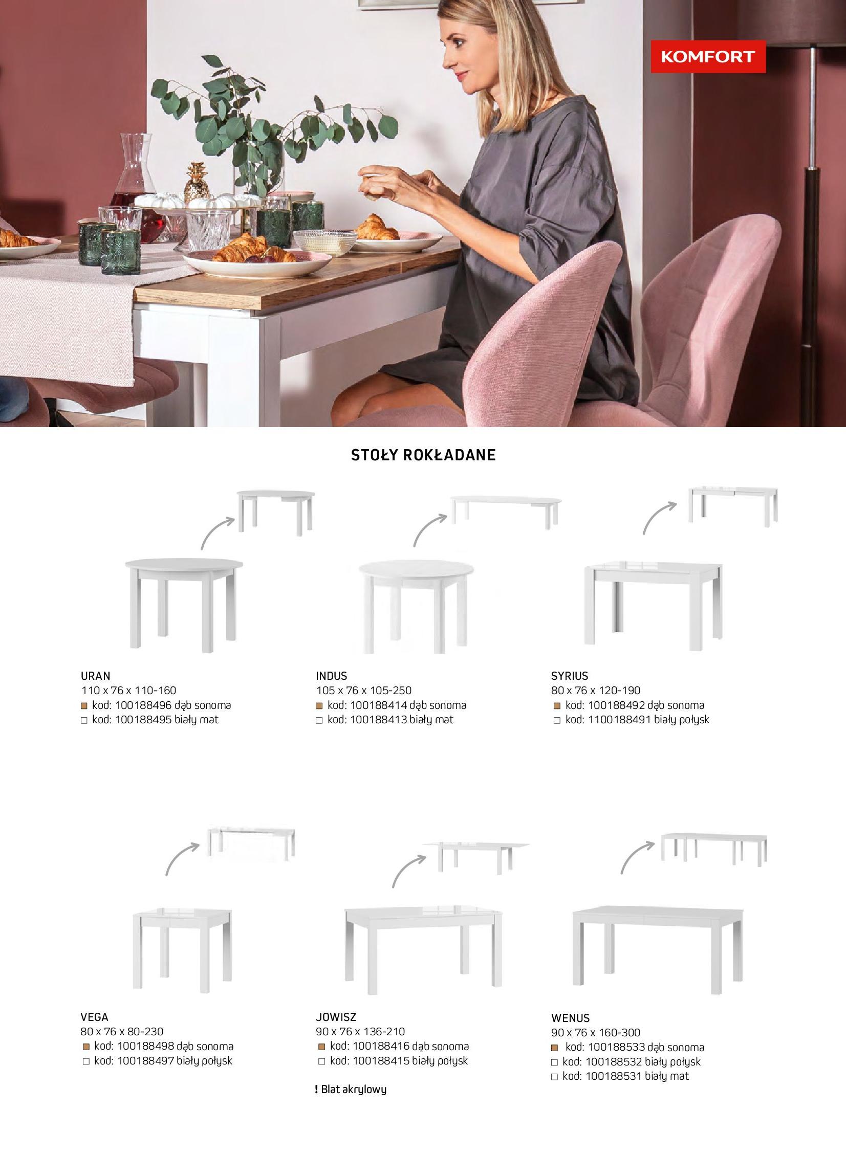 Gazetka Komfort: Gazetka komfort - Meble i oświetlenie 2021-08-26 page-37