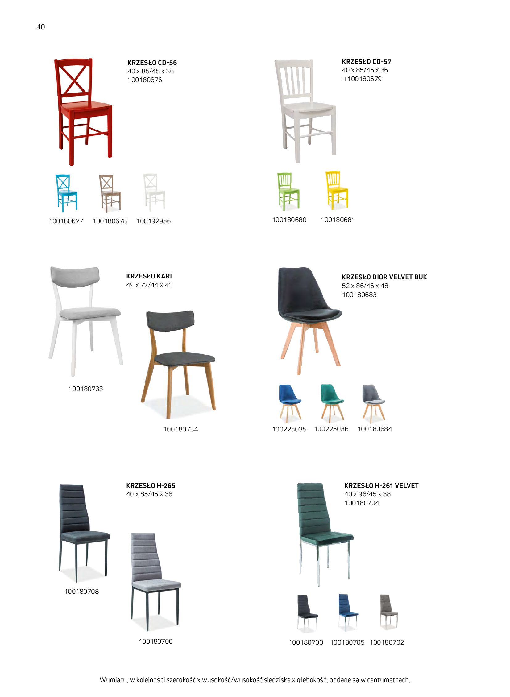 Gazetka Komfort: Gazetka komfort - Meble i oświetlenie 2021-08-26 page-40