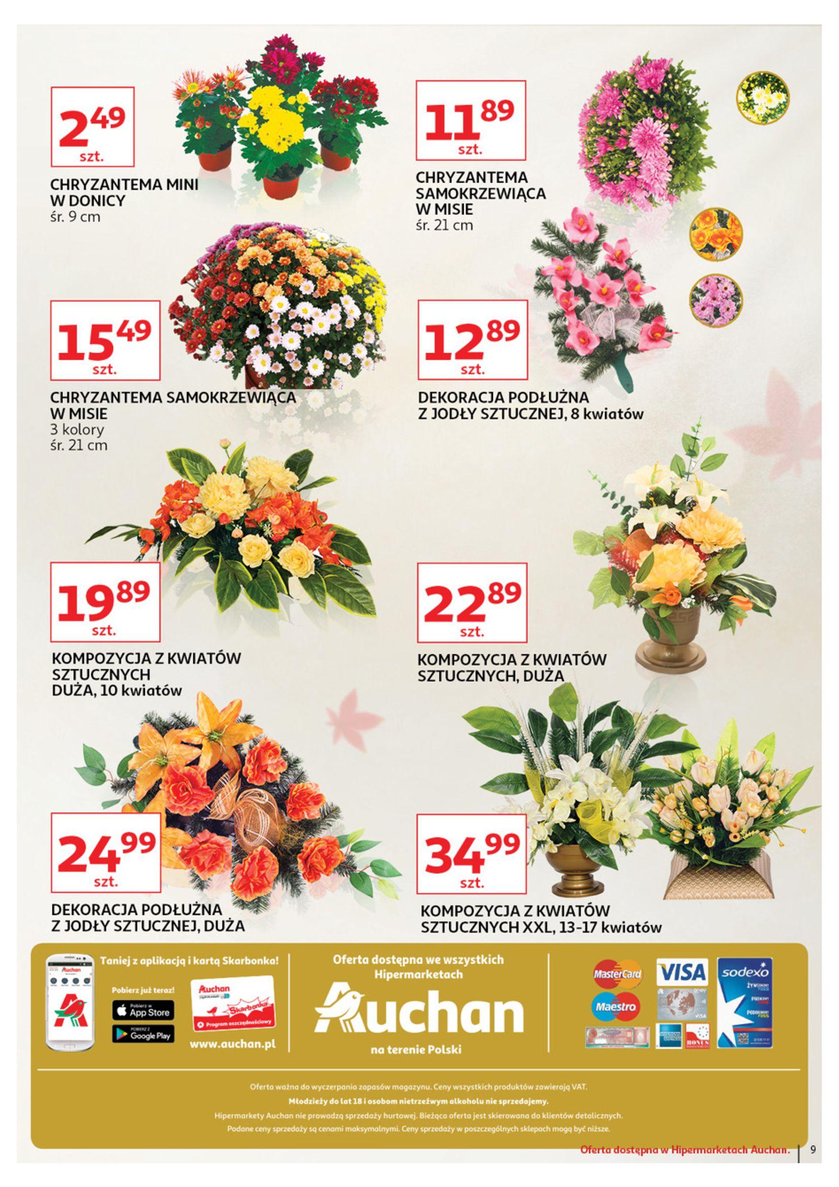 Gazetka Auchan - Znicze Hipermarkety-02.10.2019-12.10.2019-page-