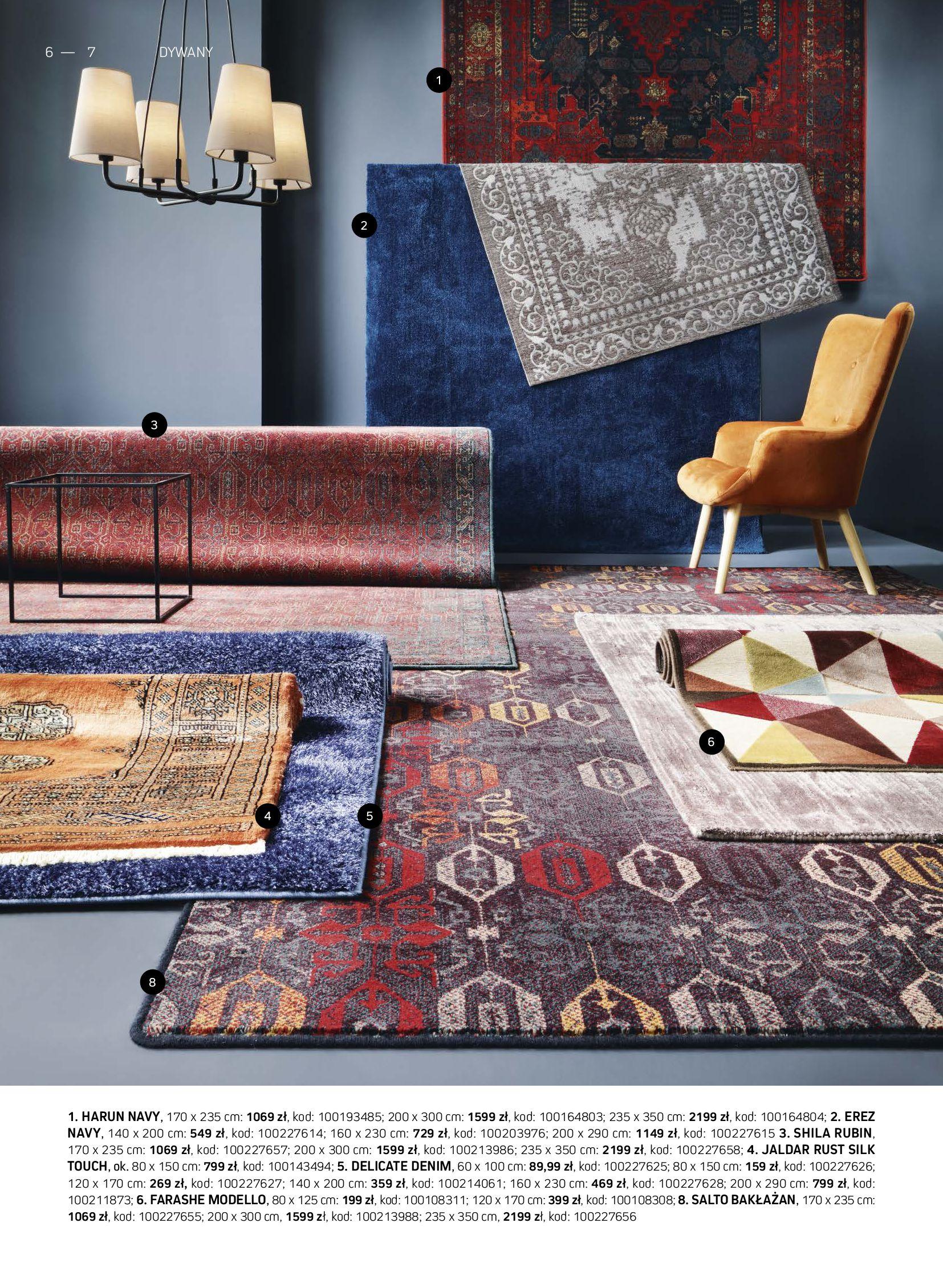 Gazetka Komfort: Gazetka Komfort - Katalog dywanów 2021-06-16 page-6