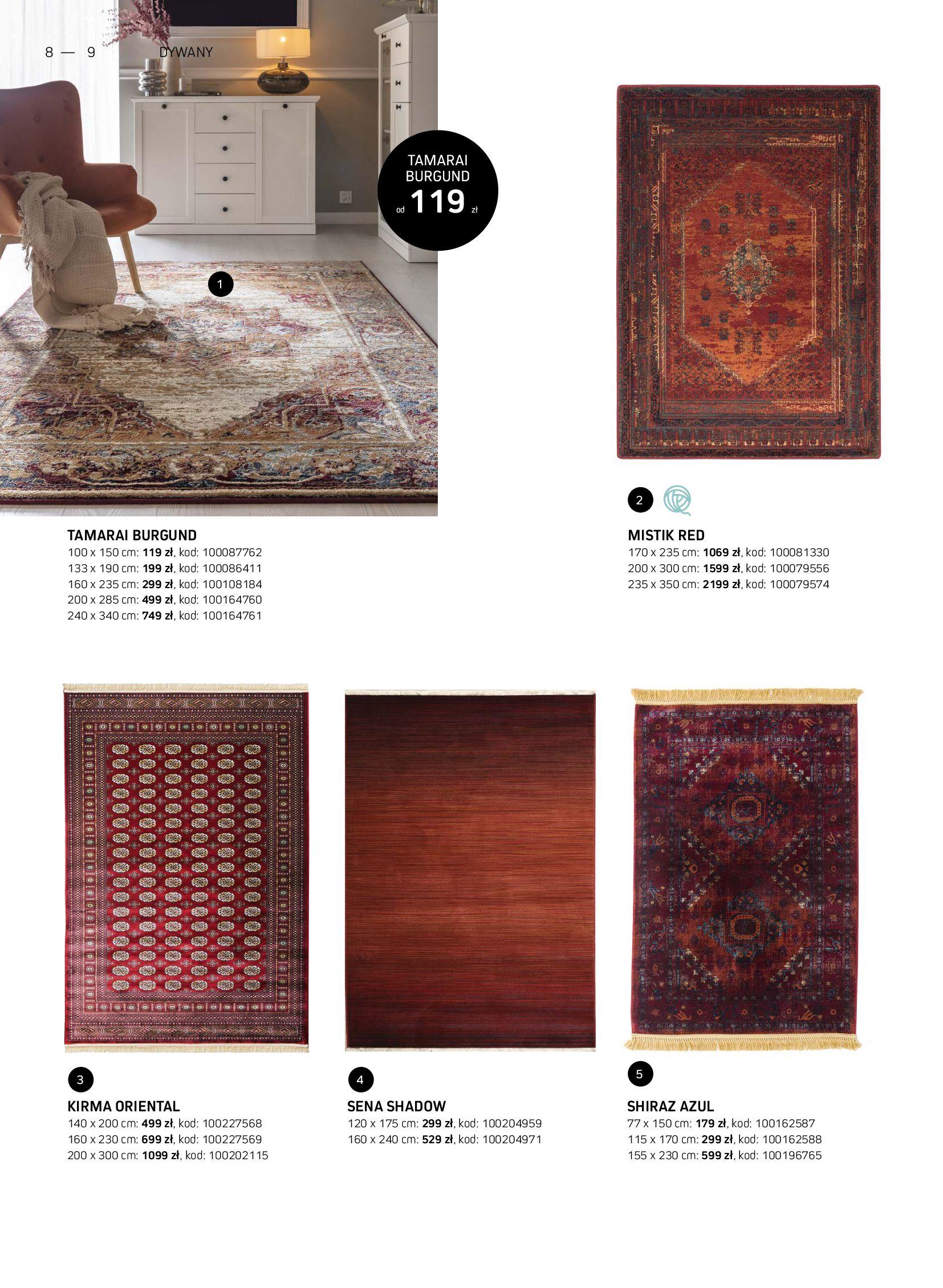 Gazetka Komfort: Gazetka Komfort - Katalog dywanów 2021-06-16 page-8