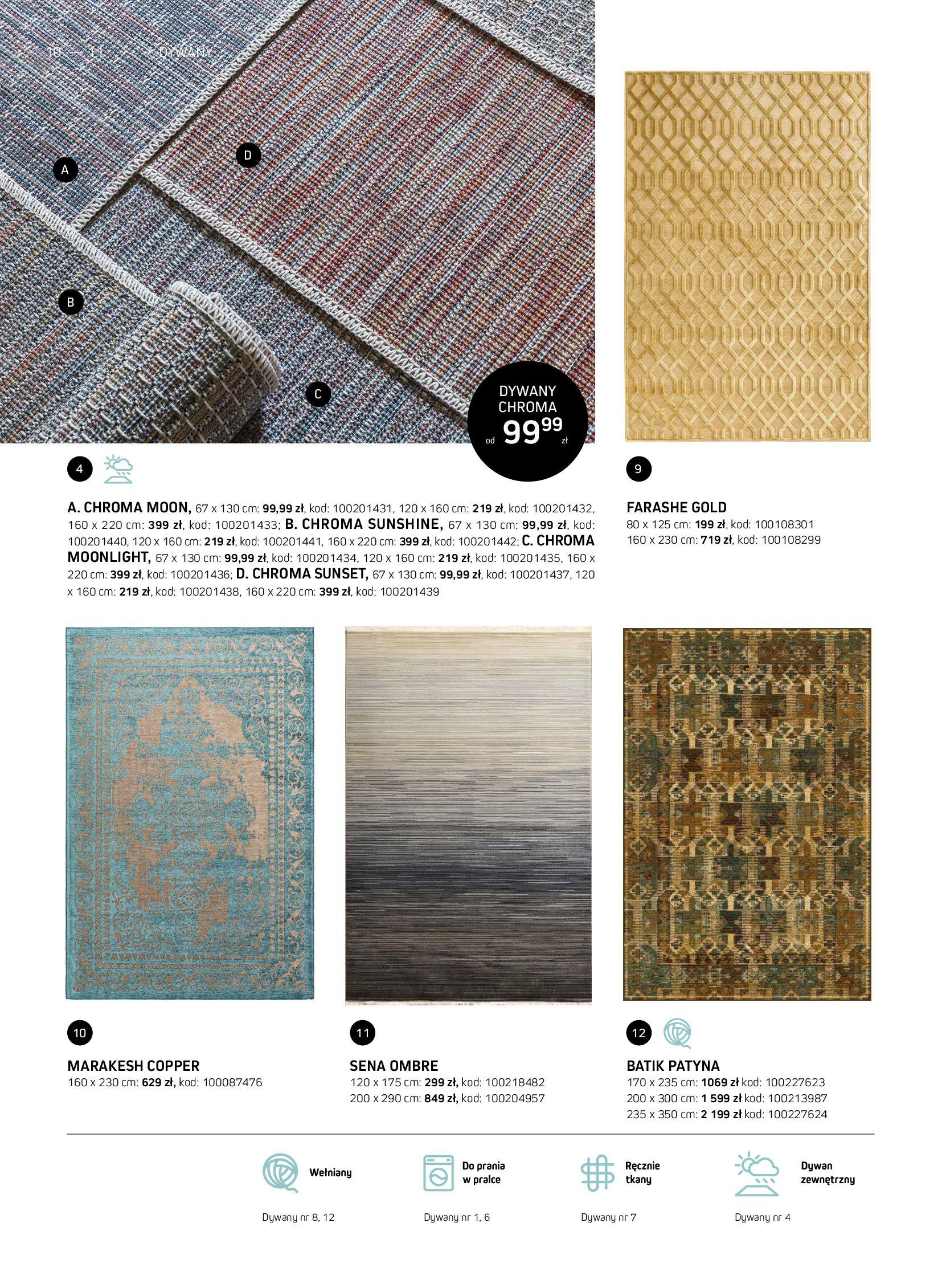 Gazetka Komfort: Gazetka Komfort - Katalog dywanów 2021-06-16 page-10