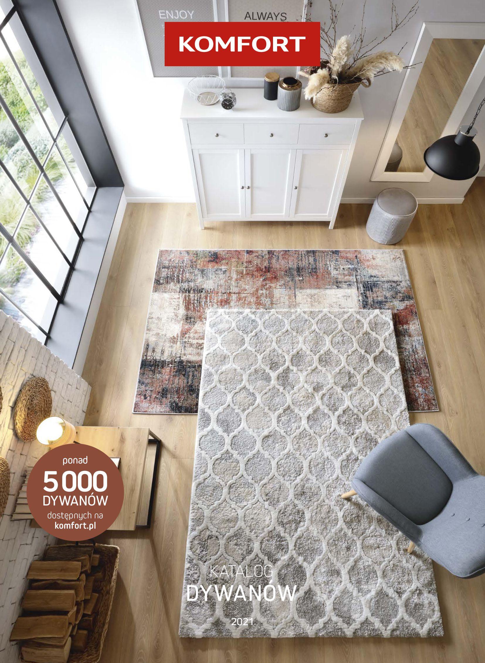 Komfort:  Gazetka Komfort - Katalog dywanów 15.06.2021