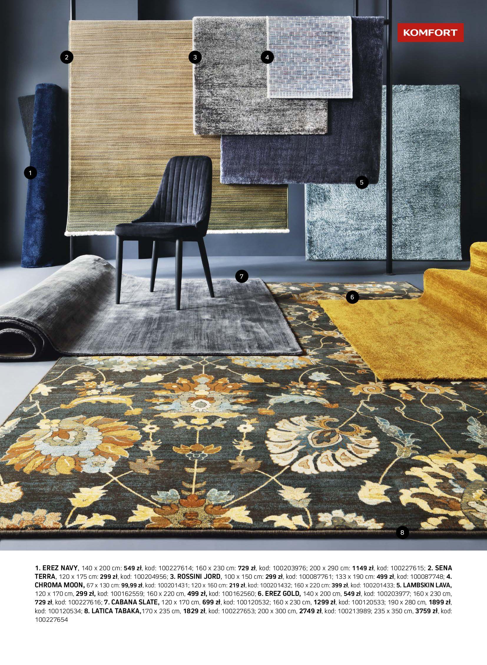 Gazetka Komfort: Gazetka Komfort - Katalog dywanów 2021-06-16 page-11