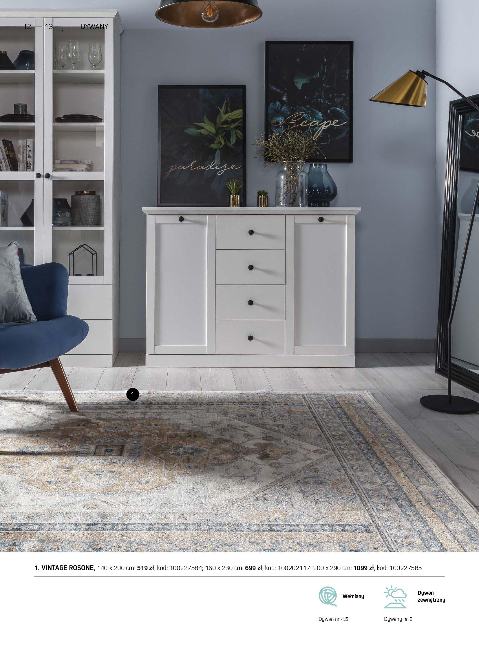 Gazetka Komfort: Gazetka Komfort - Katalog dywanów 2021-06-16 page-12