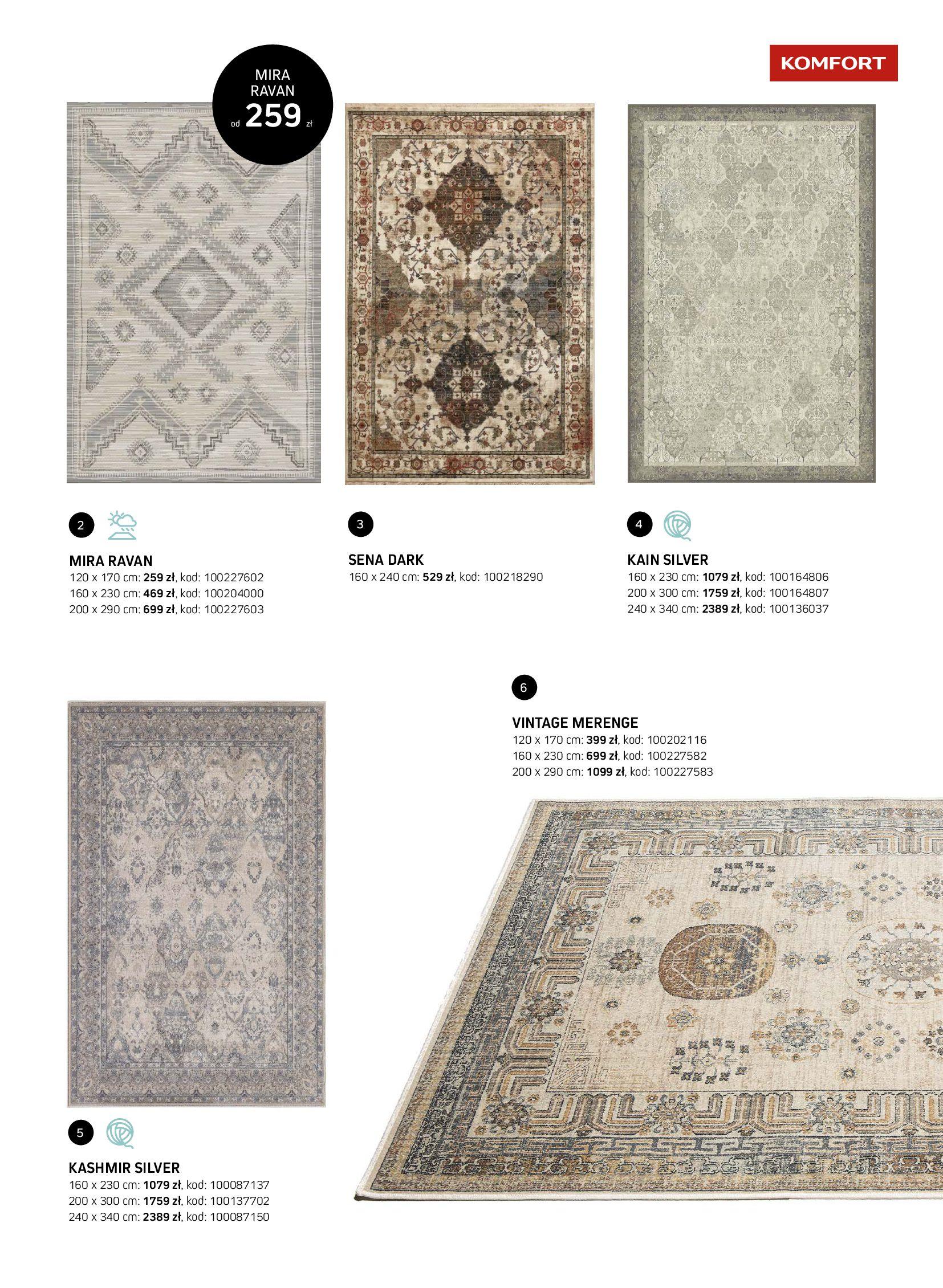 Gazetka Komfort: Gazetka Komfort - Katalog dywanów 2021-06-16 page-13