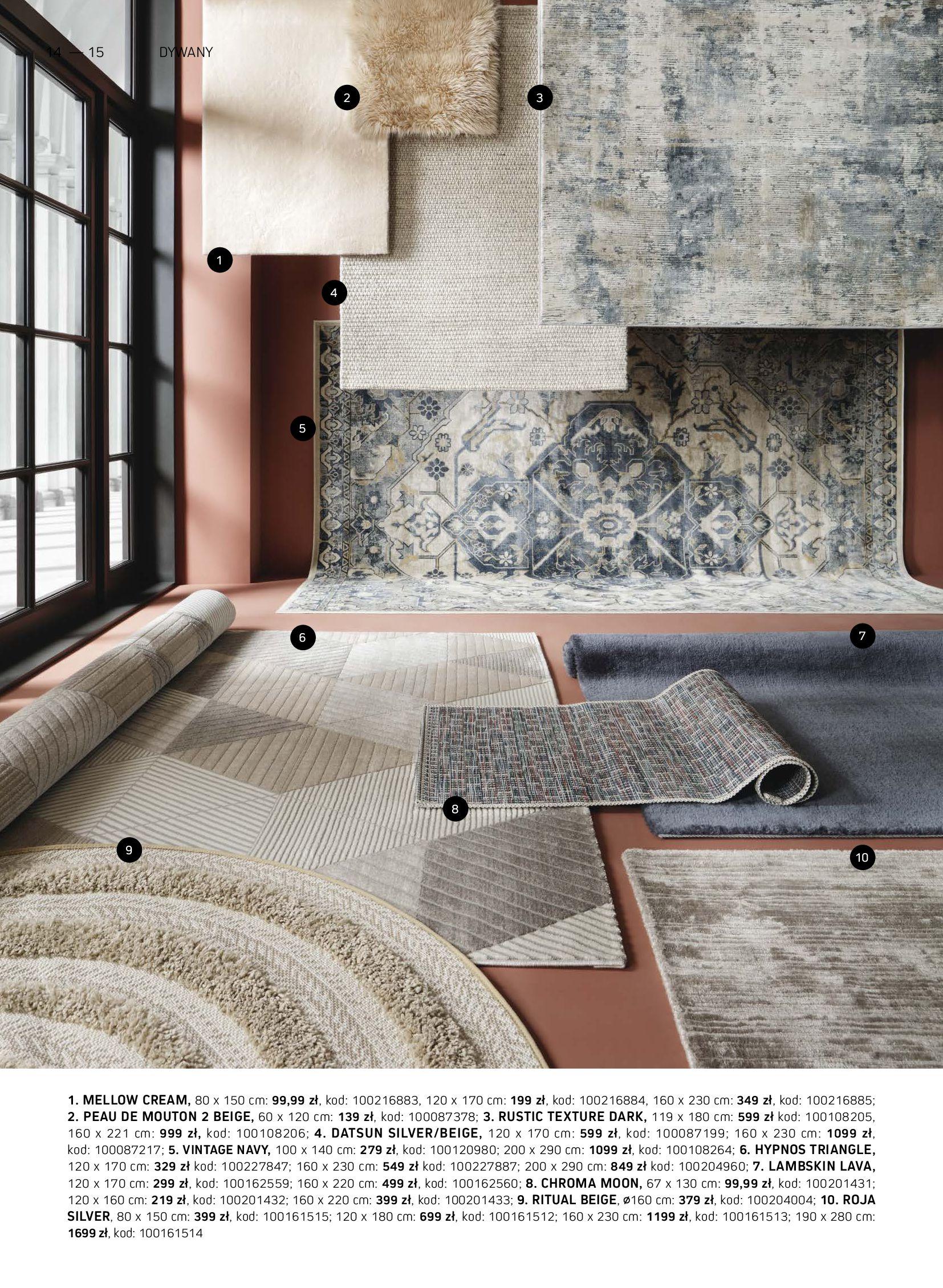 Gazetka Komfort: Gazetka Komfort - Katalog dywanów 2021-06-16 page-14