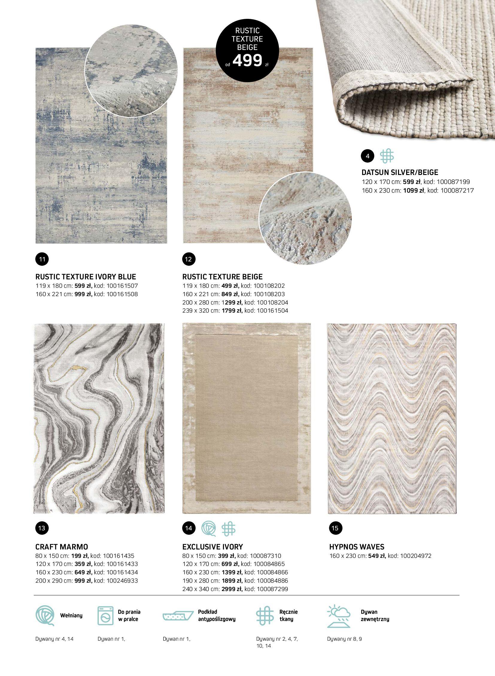 Gazetka Komfort: Gazetka Komfort - Katalog dywanów 2021-06-16 page-15