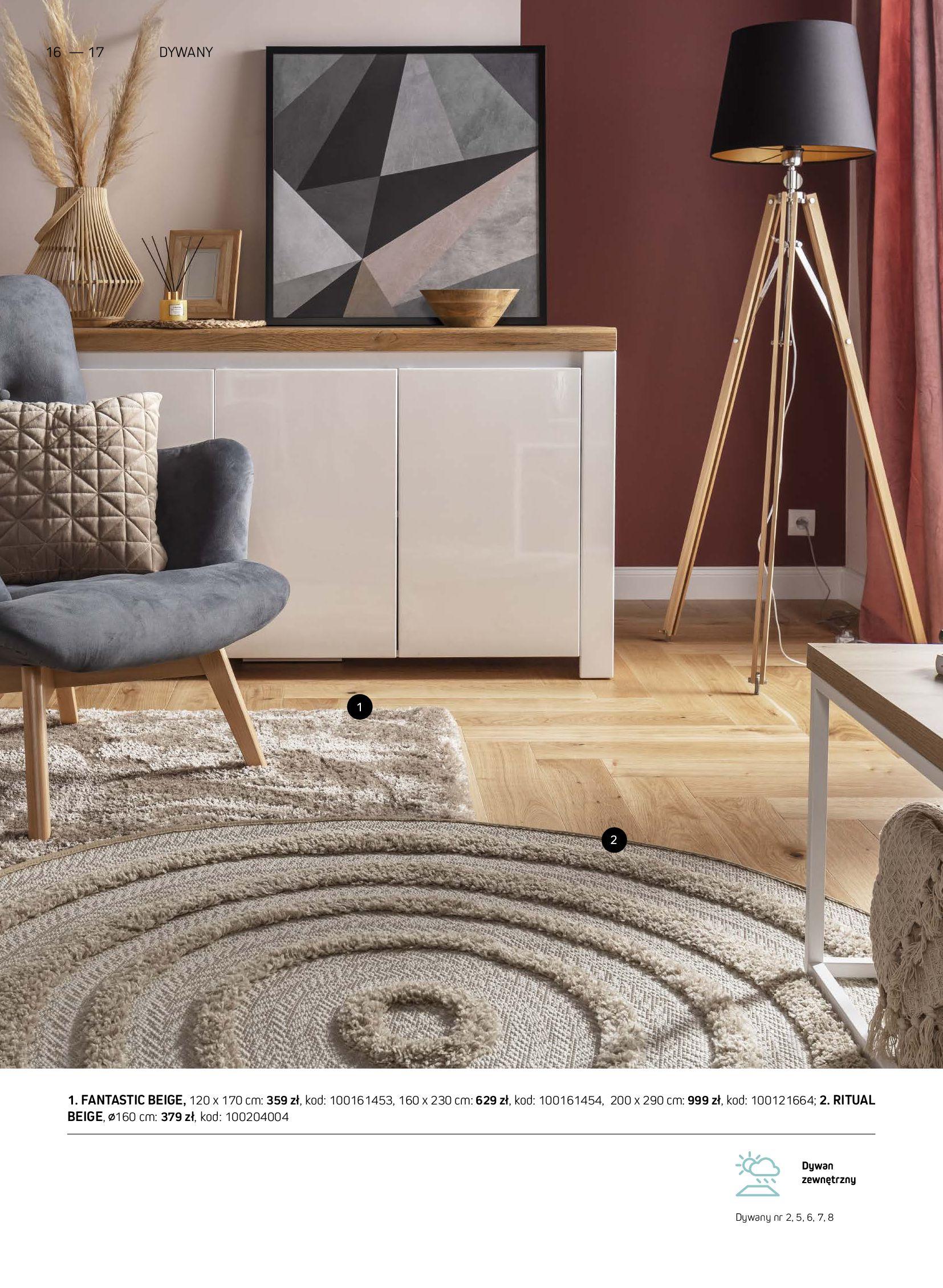 Gazetka Komfort: Gazetka Komfort - Katalog dywanów 2021-06-16 page-16