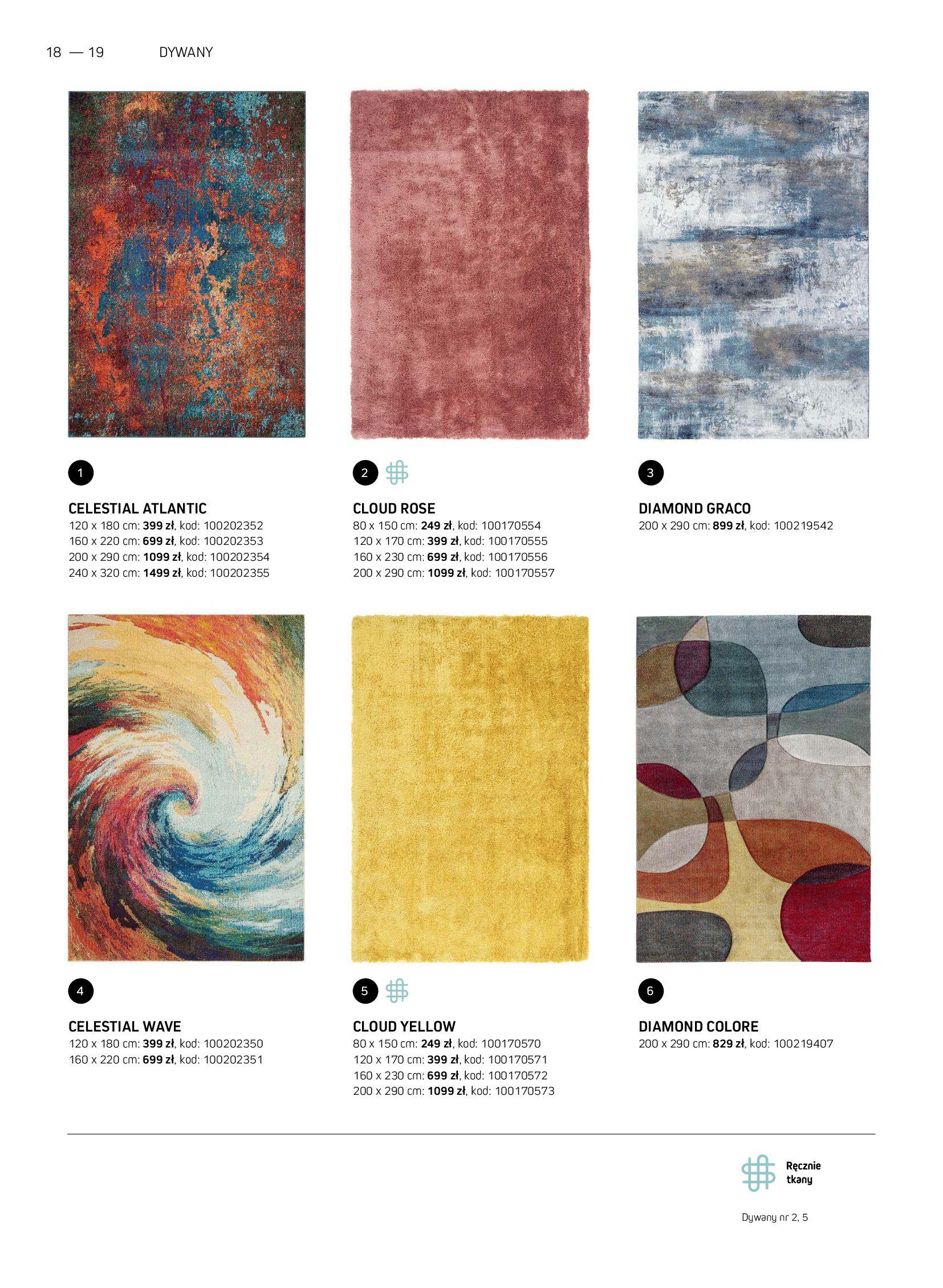 Gazetka Komfort: Gazetka Komfort - Katalog dywanów 2021-06-16 page-18