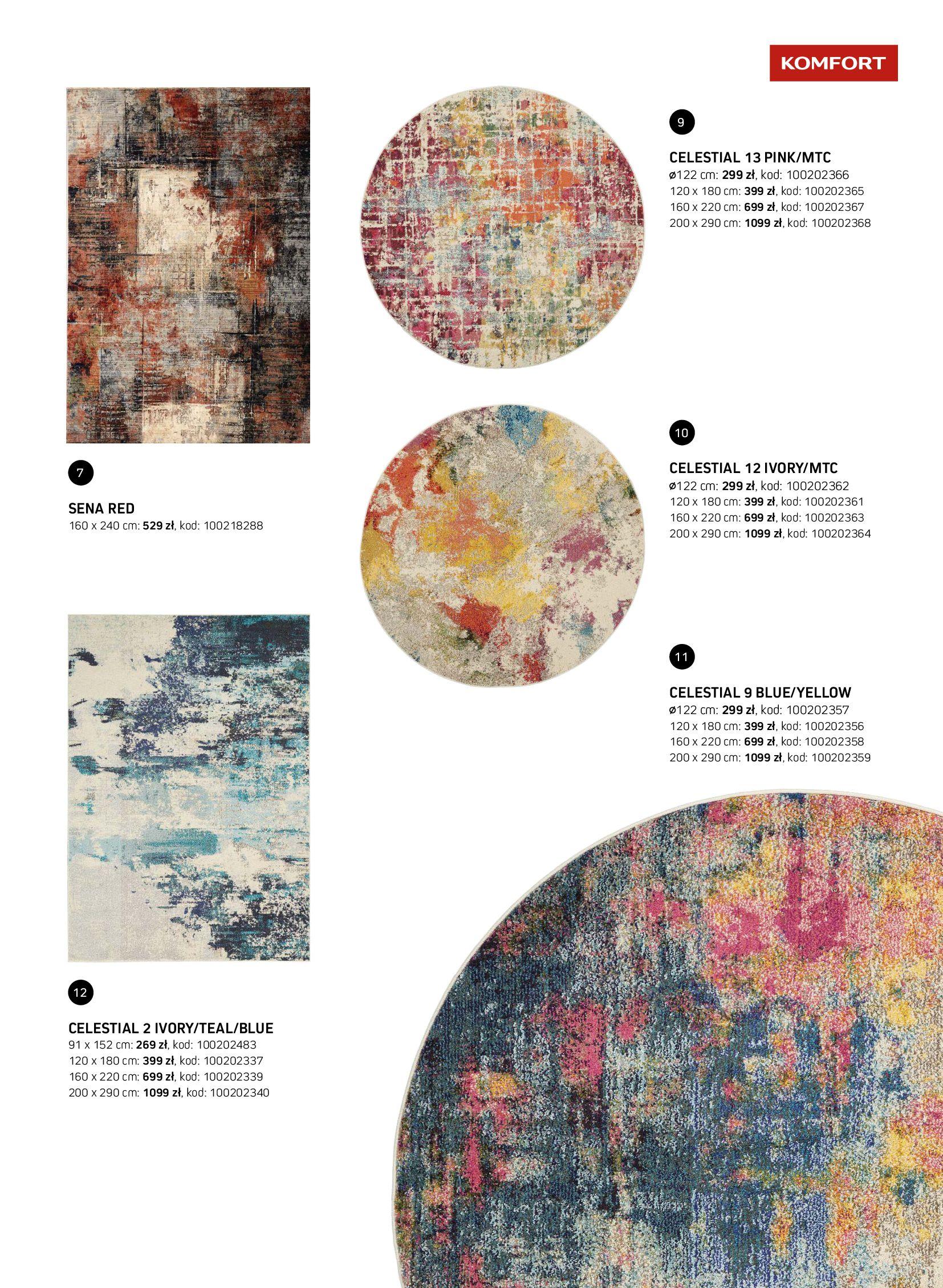 Gazetka Komfort: Gazetka Komfort - Katalog dywanów 2021-06-16 page-19