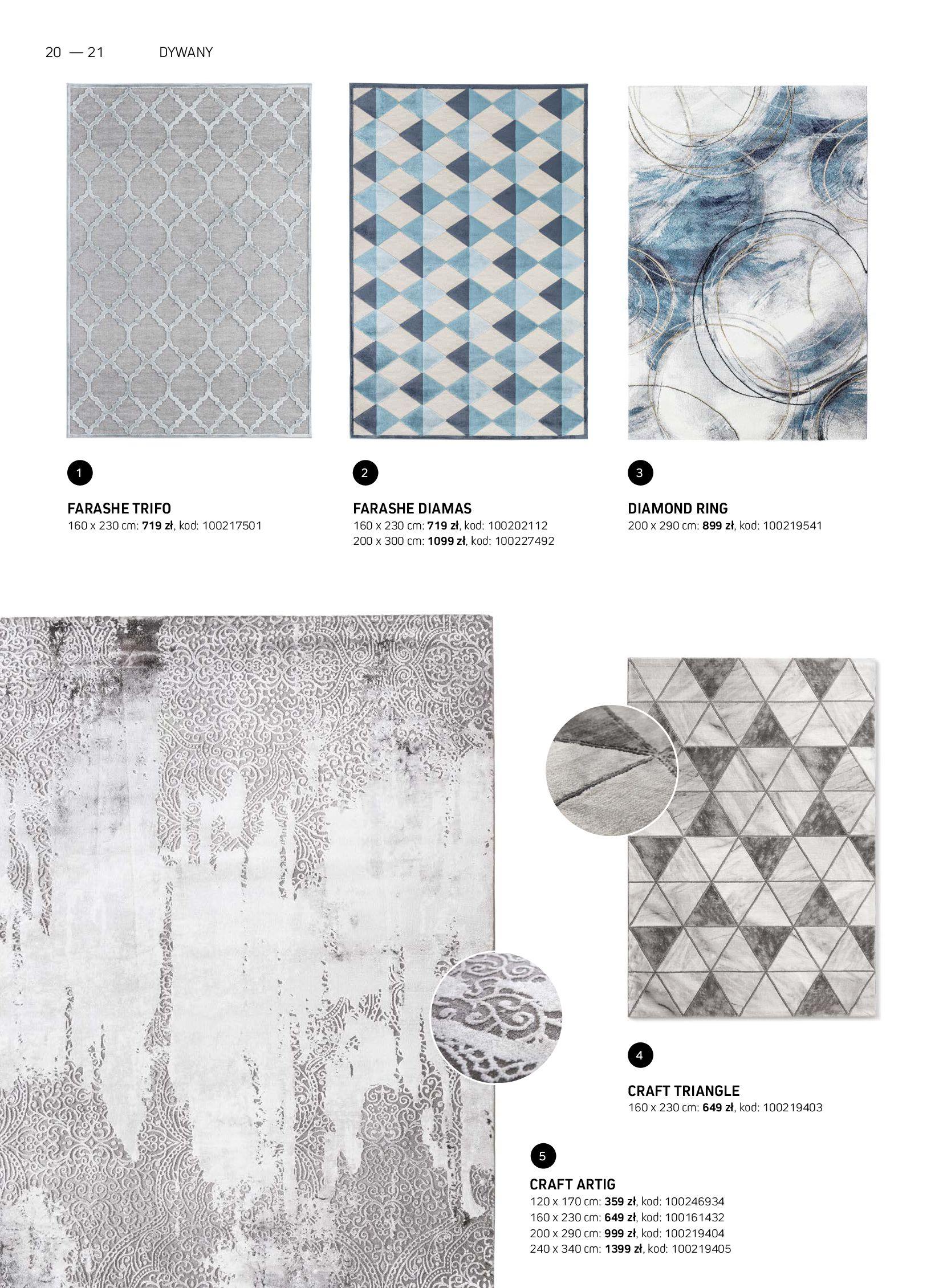 Gazetka Komfort: Gazetka Komfort - Katalog dywanów 2021-06-16 page-20
