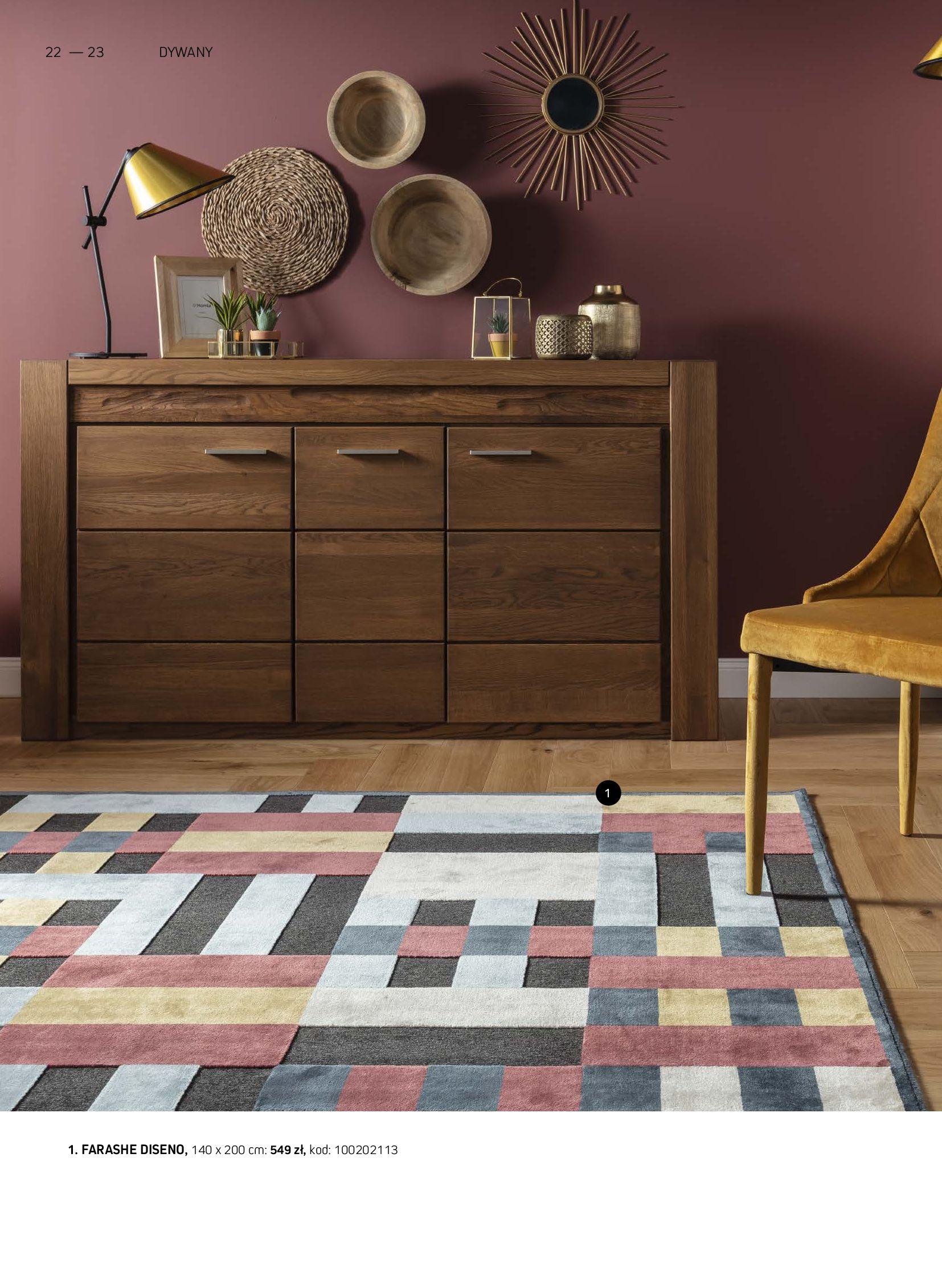 Gazetka Komfort: Gazetka Komfort - Katalog dywanów 2021-06-16 page-22