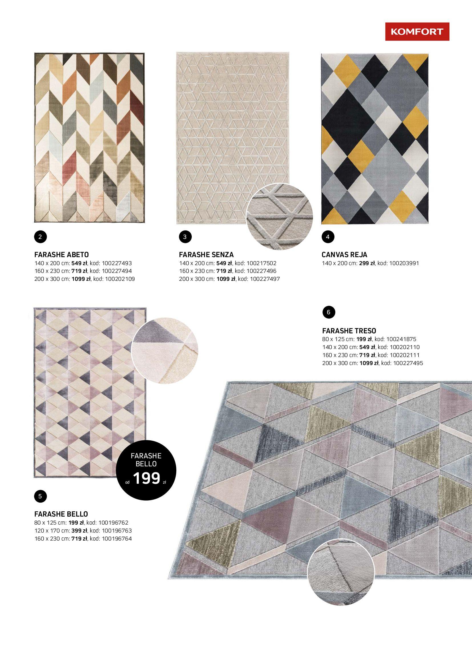 Gazetka Komfort: Gazetka Komfort - Katalog dywanów 2021-06-16 page-23