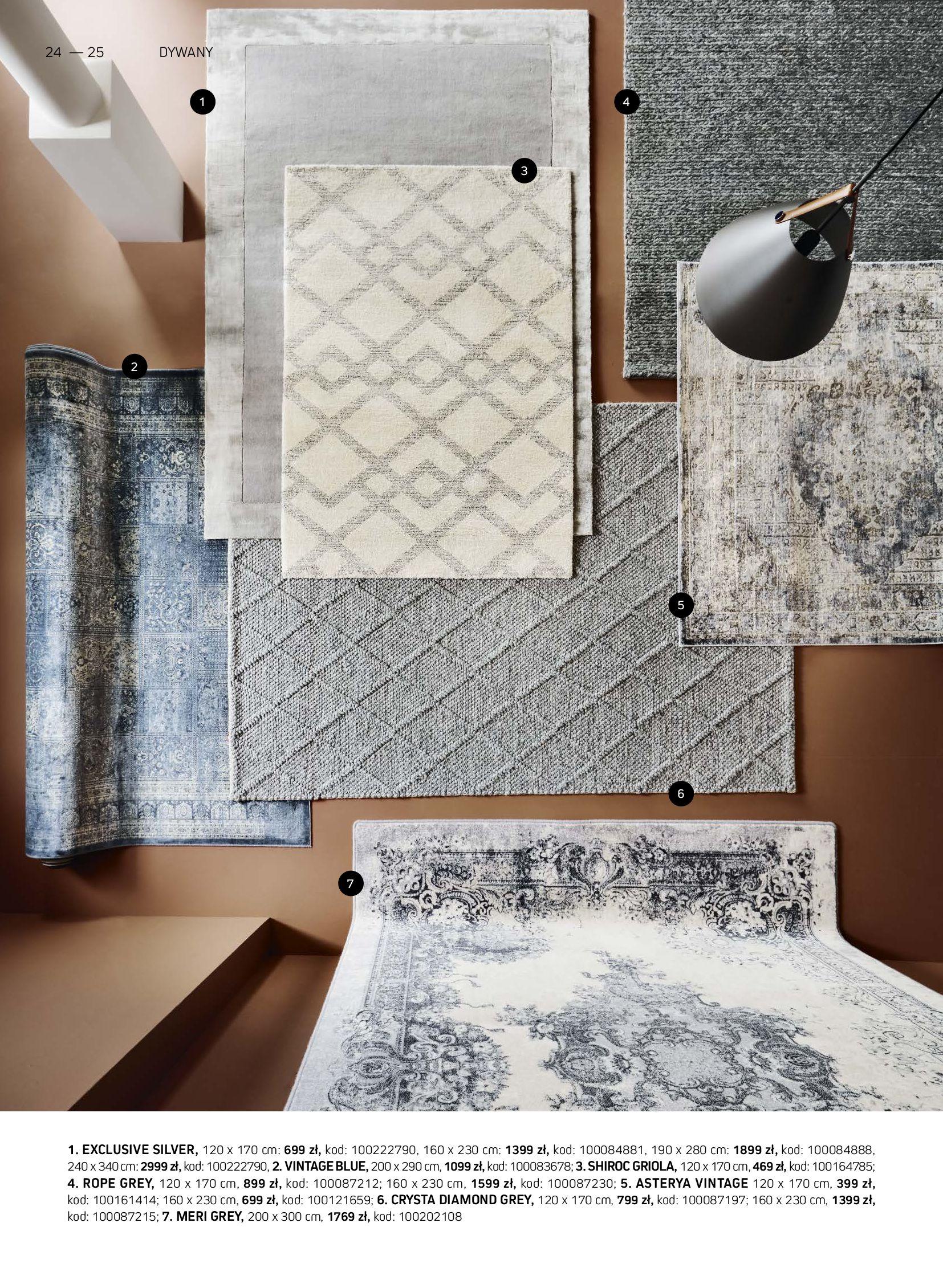 Gazetka Komfort: Gazetka Komfort - Katalog dywanów 2021-06-16 page-24