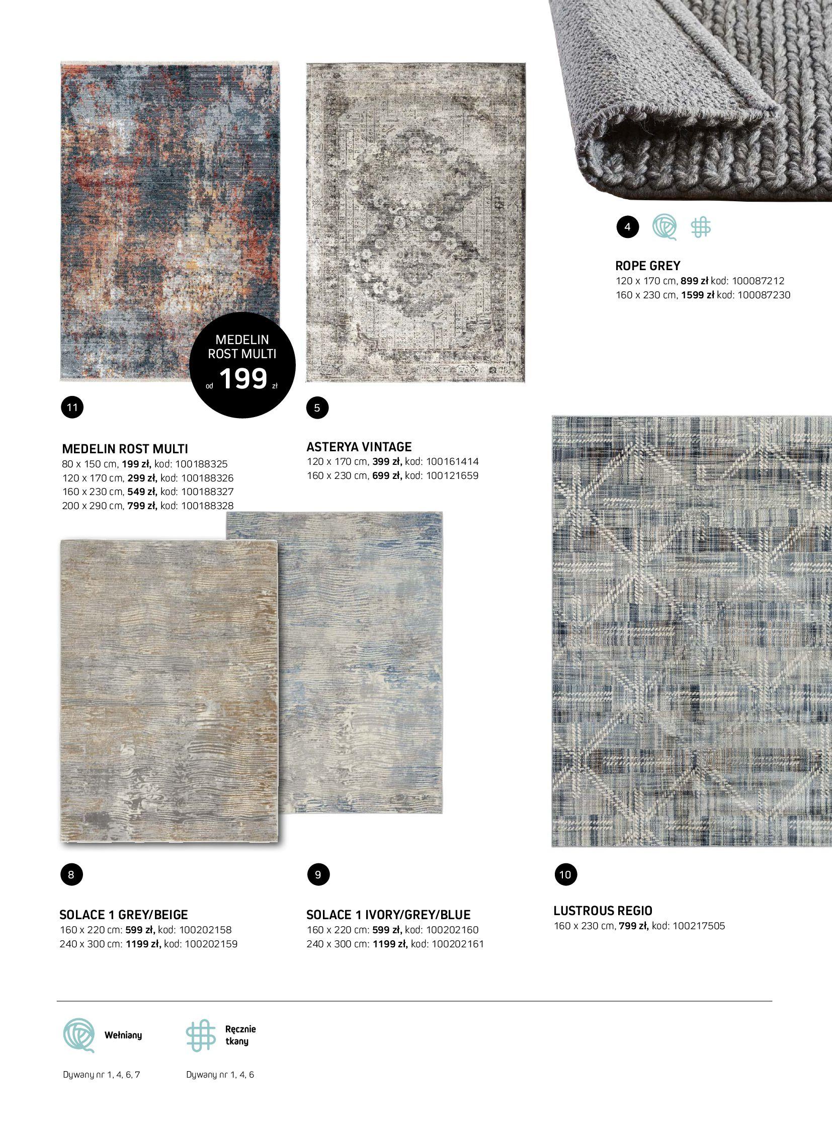 Gazetka Komfort: Gazetka Komfort - Katalog dywanów 2021-06-16 page-25