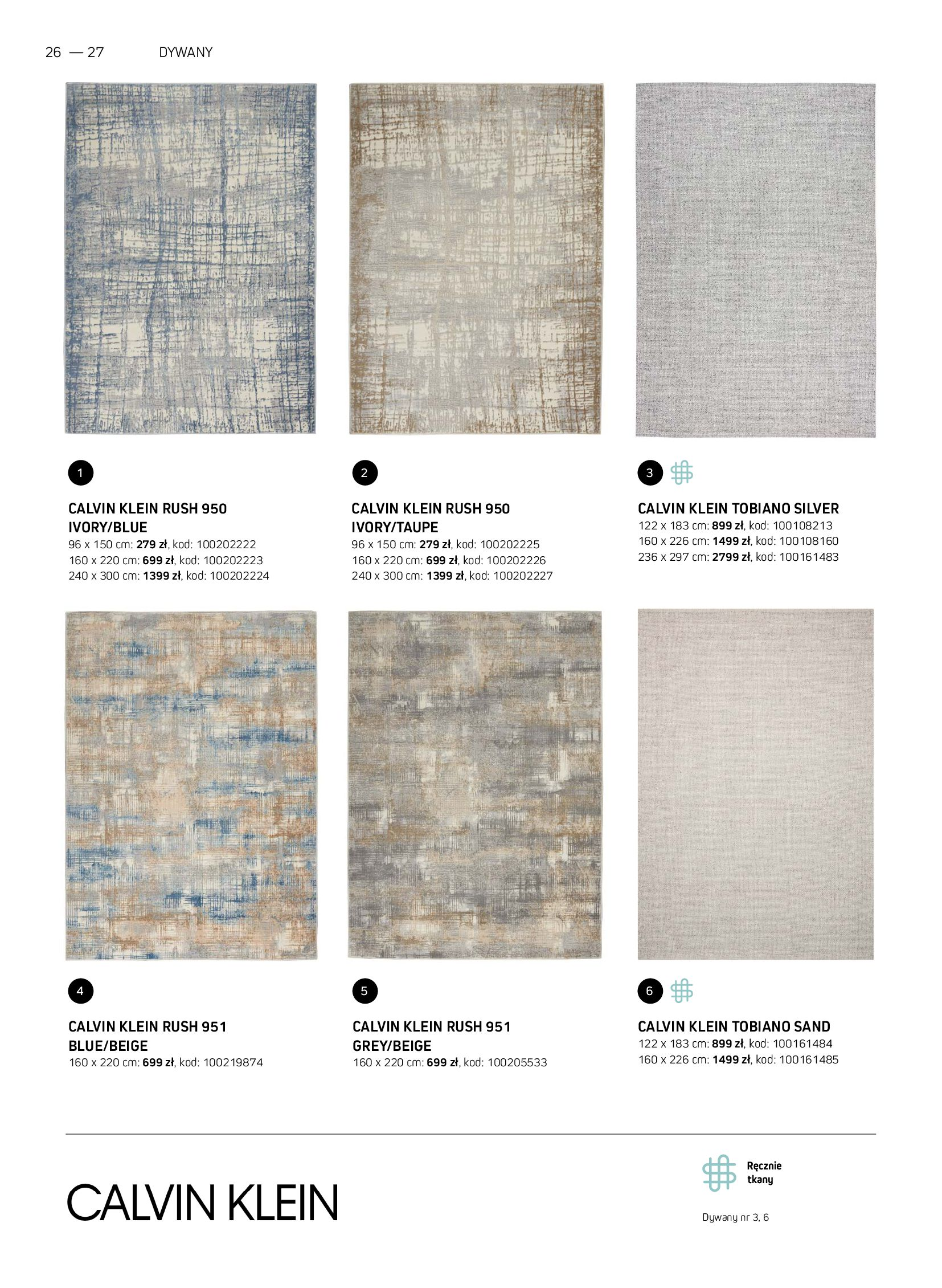 Gazetka Komfort: Gazetka Komfort - Katalog dywanów 2021-06-16 page-26