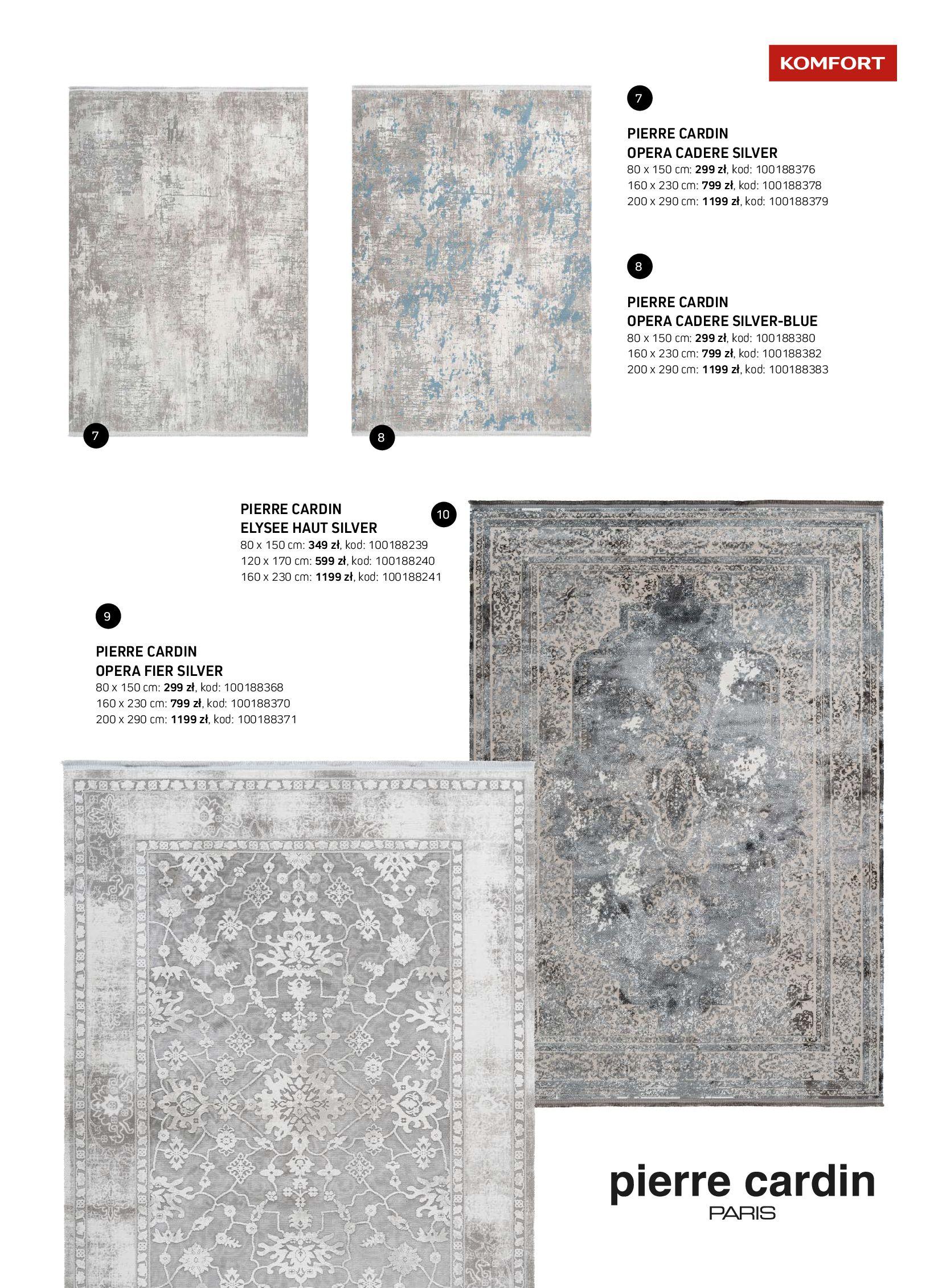 Gazetka Komfort: Gazetka Komfort - Katalog dywanów 2021-06-16 page-27