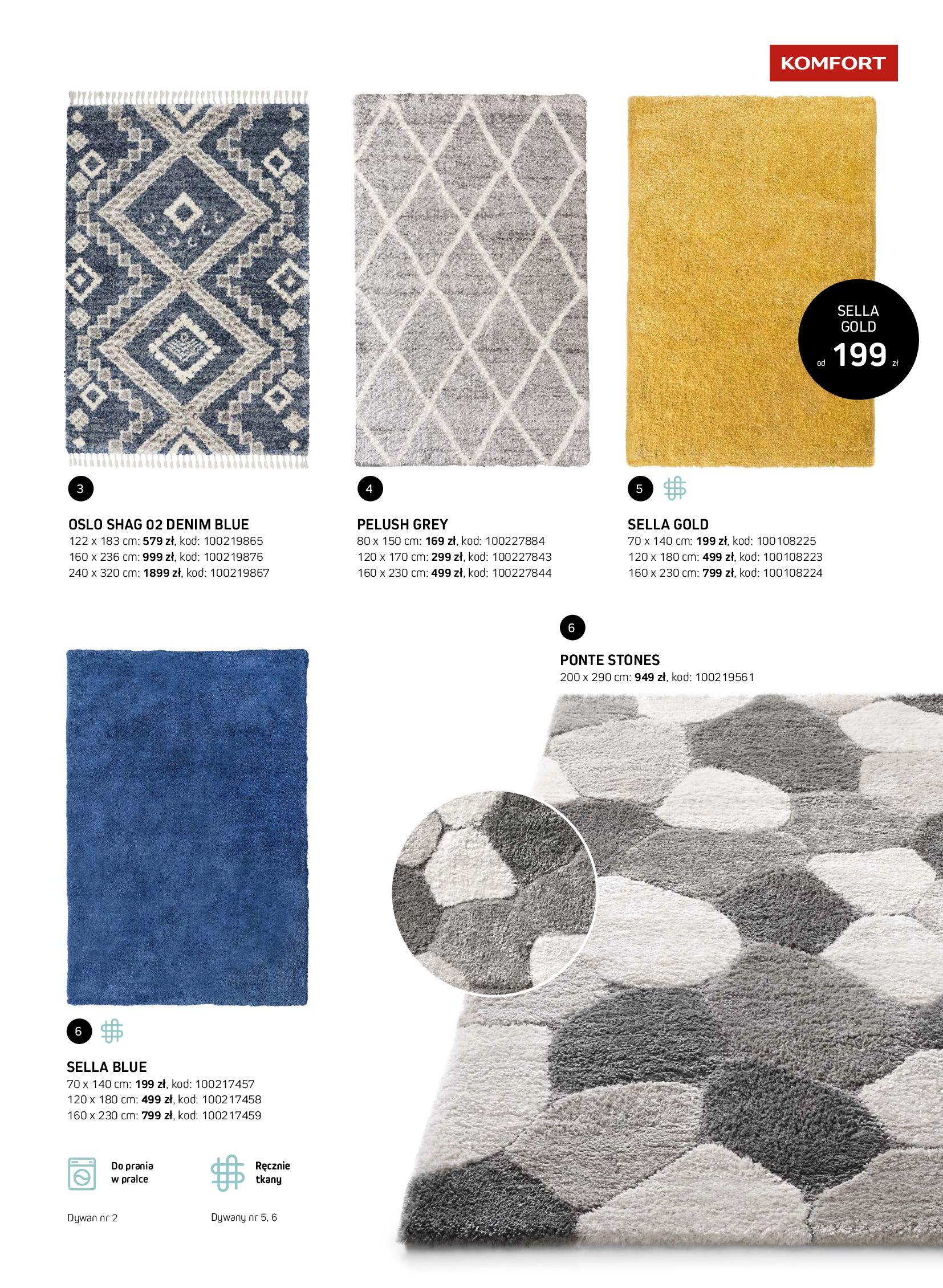 Gazetka Komfort: Gazetka Komfort - Katalog dywanów 2021-06-16 page-29