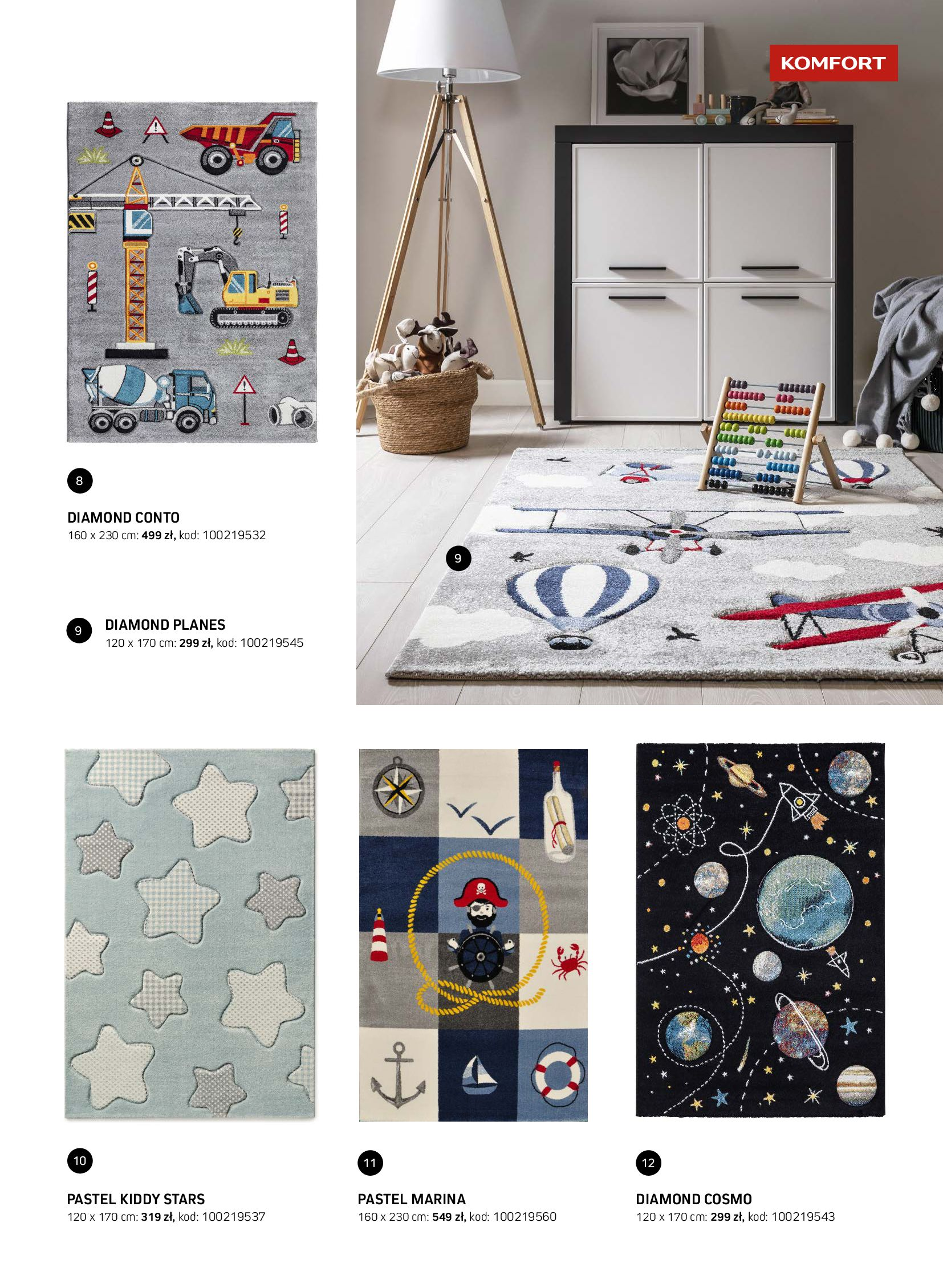 Gazetka Komfort: Gazetka Komfort - Katalog dywanów 2021-06-16 page-33
