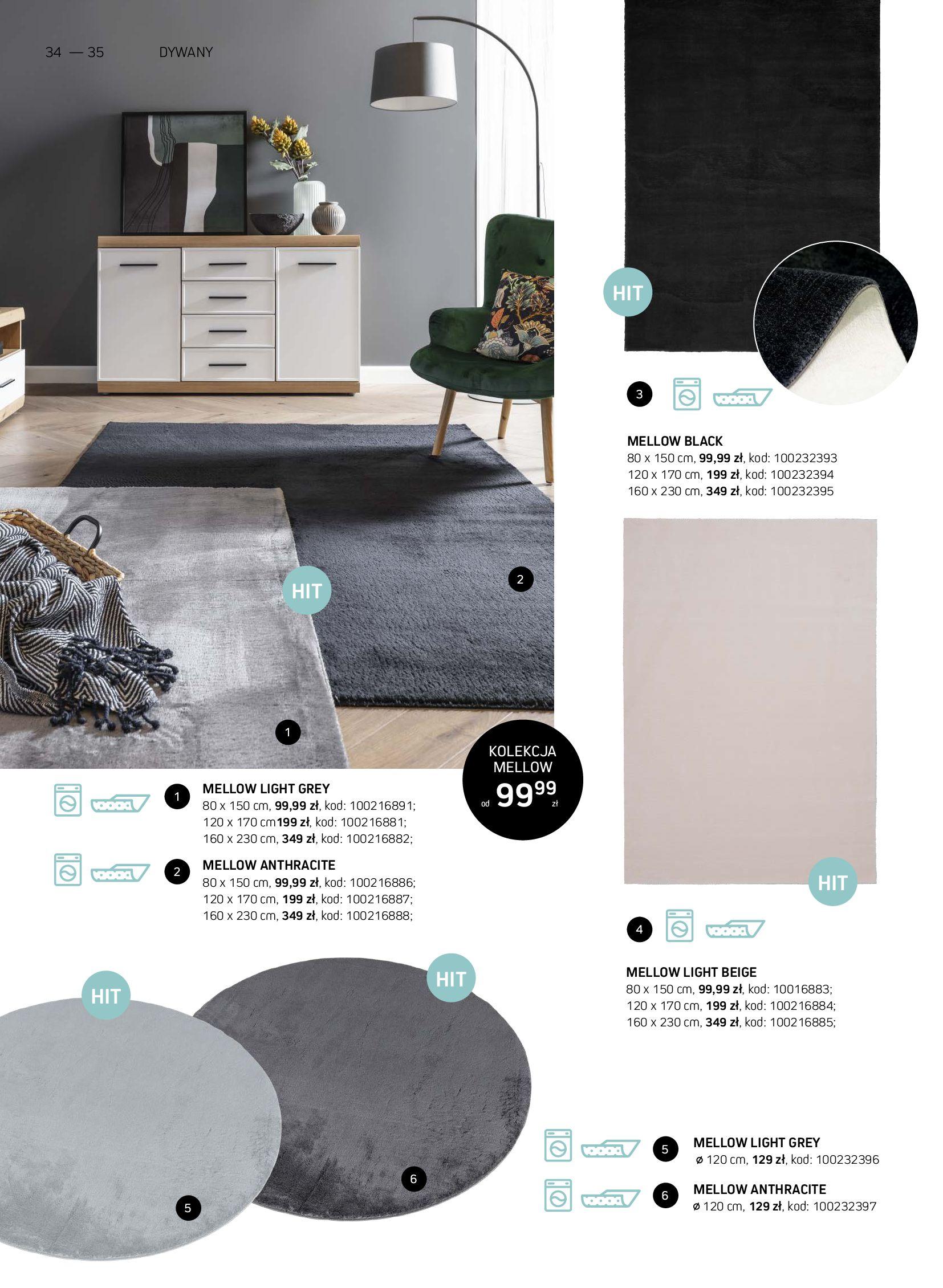 Gazetka Komfort: Gazetka Komfort - Katalog dywanów 2021-06-16 page-34
