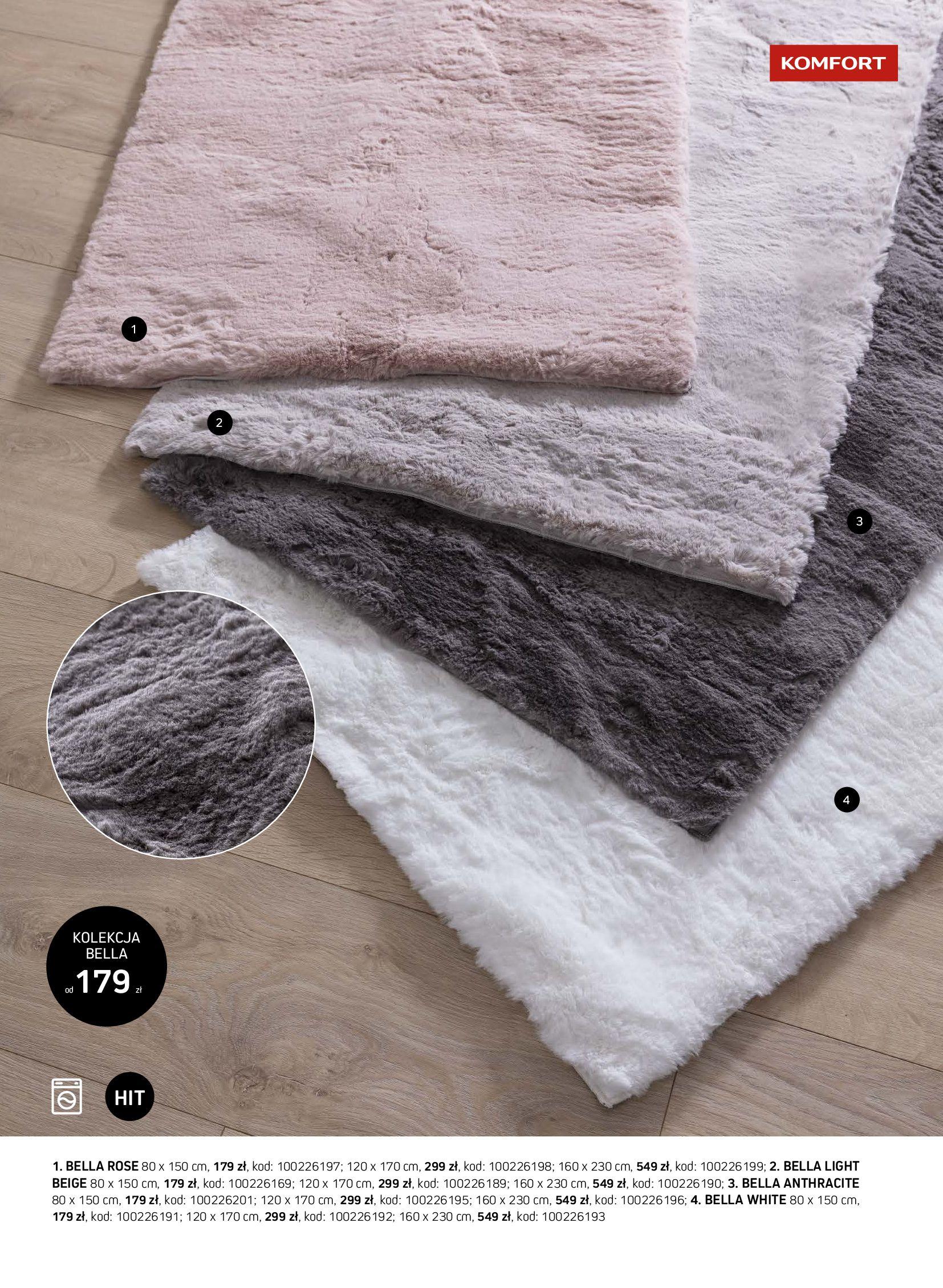 Gazetka Komfort: Gazetka Komfort - Katalog dywanów 2021-06-16 page-35