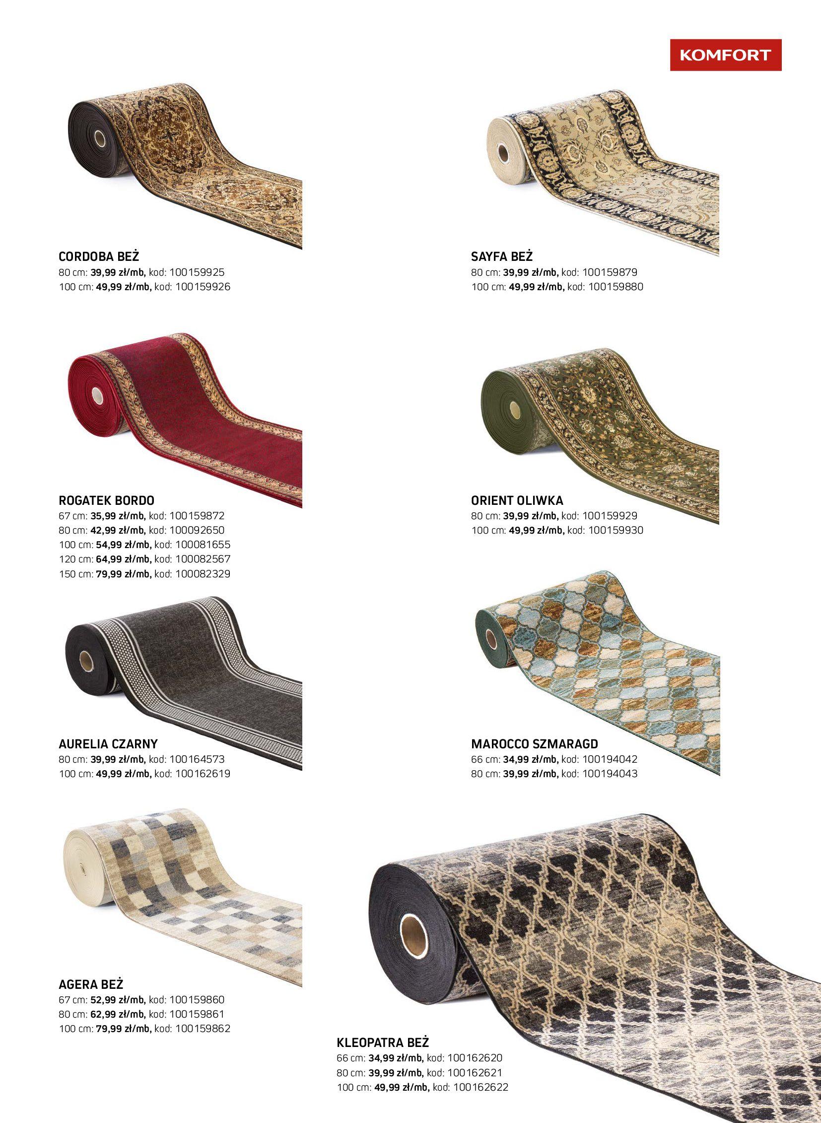 Gazetka Komfort: Gazetka Komfort - Katalog dywanów 2021-06-16 page-37