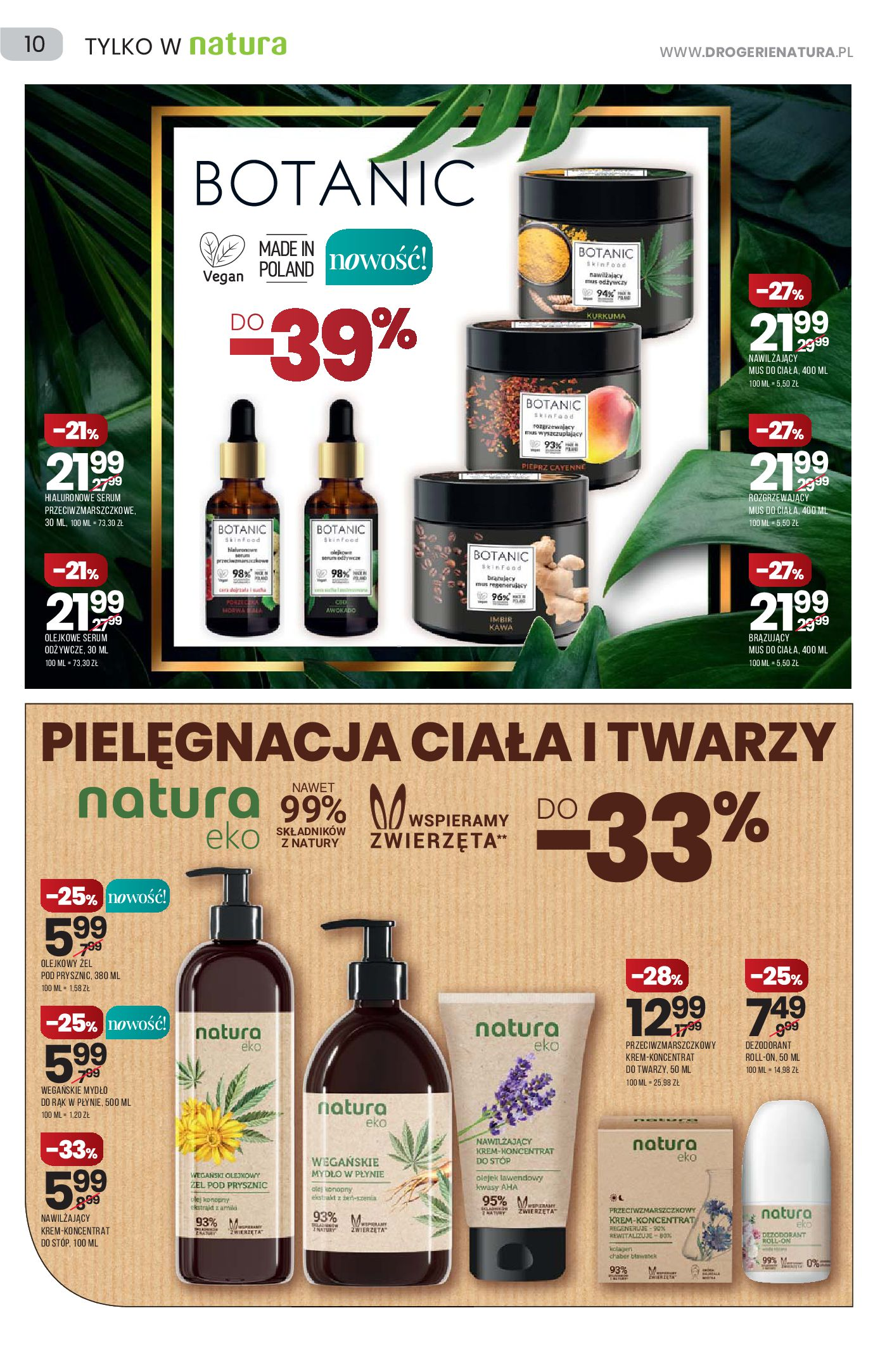 Gazetka Drogerie Natura: Gazetka Drogerie Natura 2021-09-09 page-10
