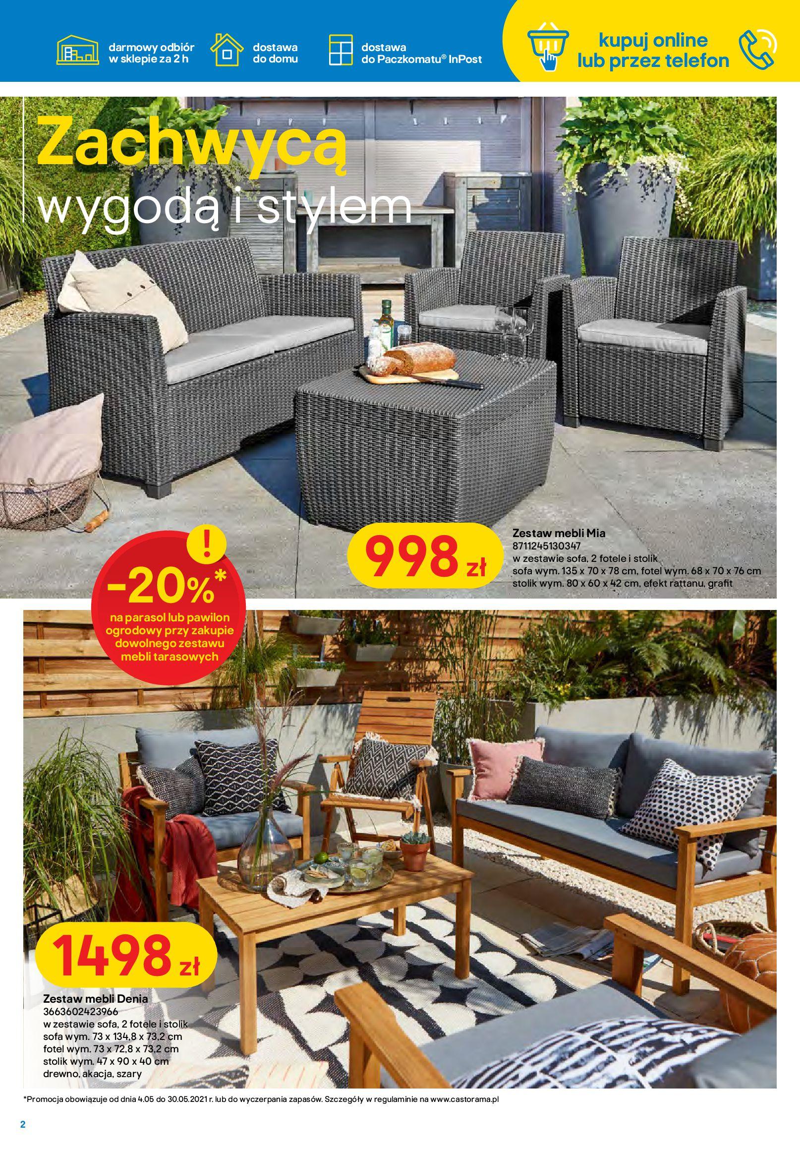 Gazetka Castorama: Ogród idealny dla Ciebie 2021-05-04 page-2