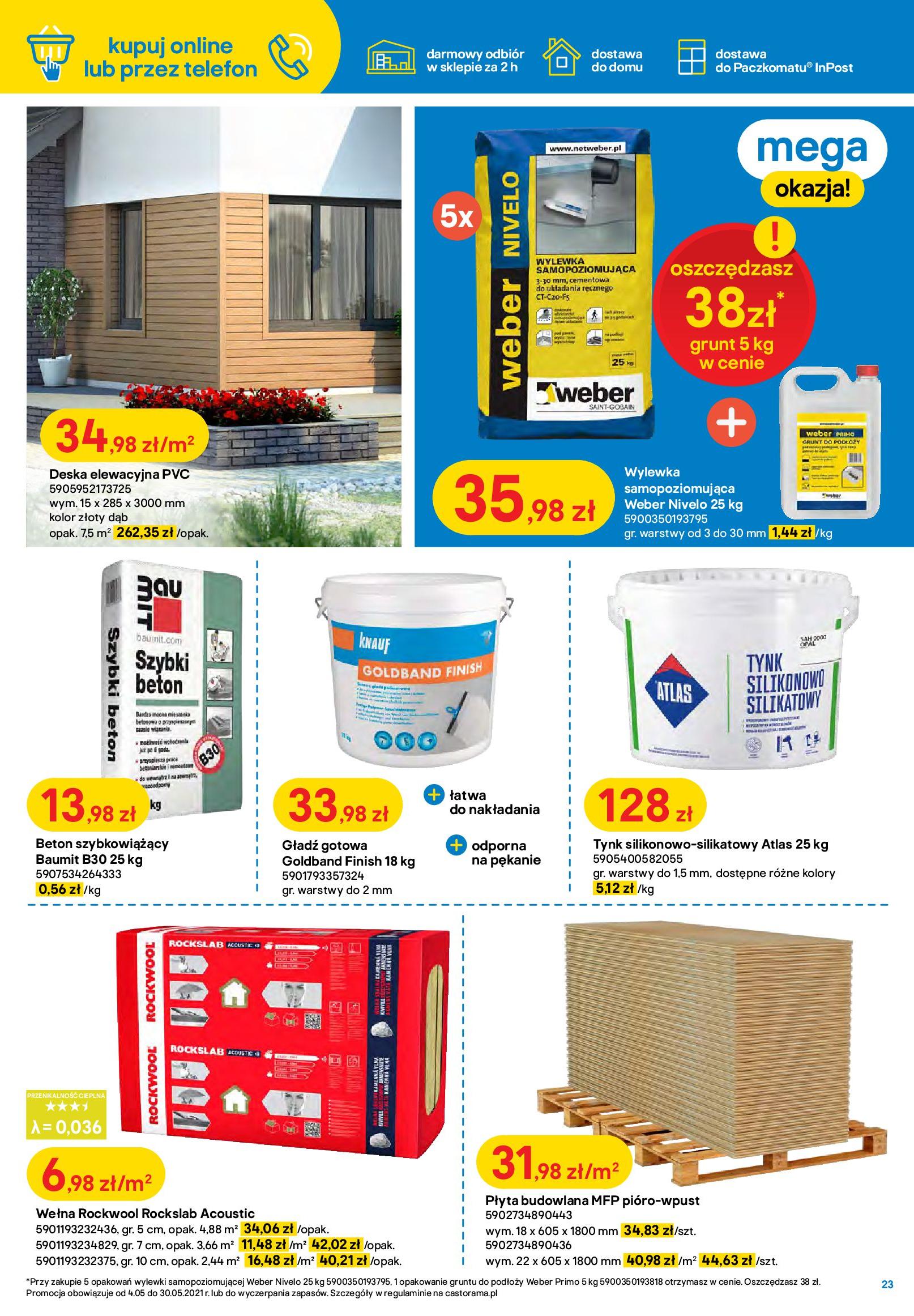 Gazetka Castorama: Ogród idealny dla Ciebie 2021-05-04 page-23