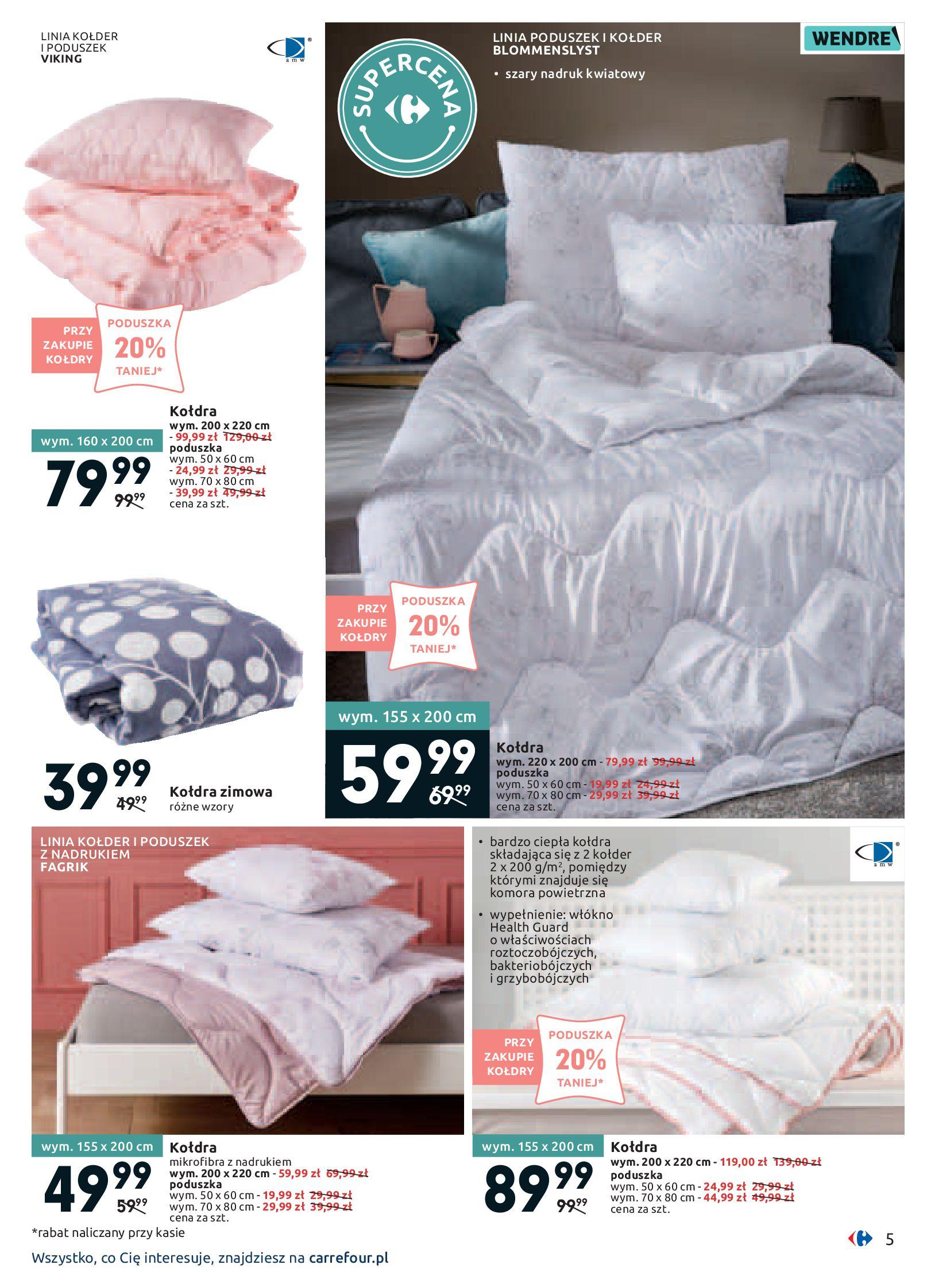 Gazetka Carrefour - Twój dom z pomysłem-13.01.2020-26.01.2020-page-5