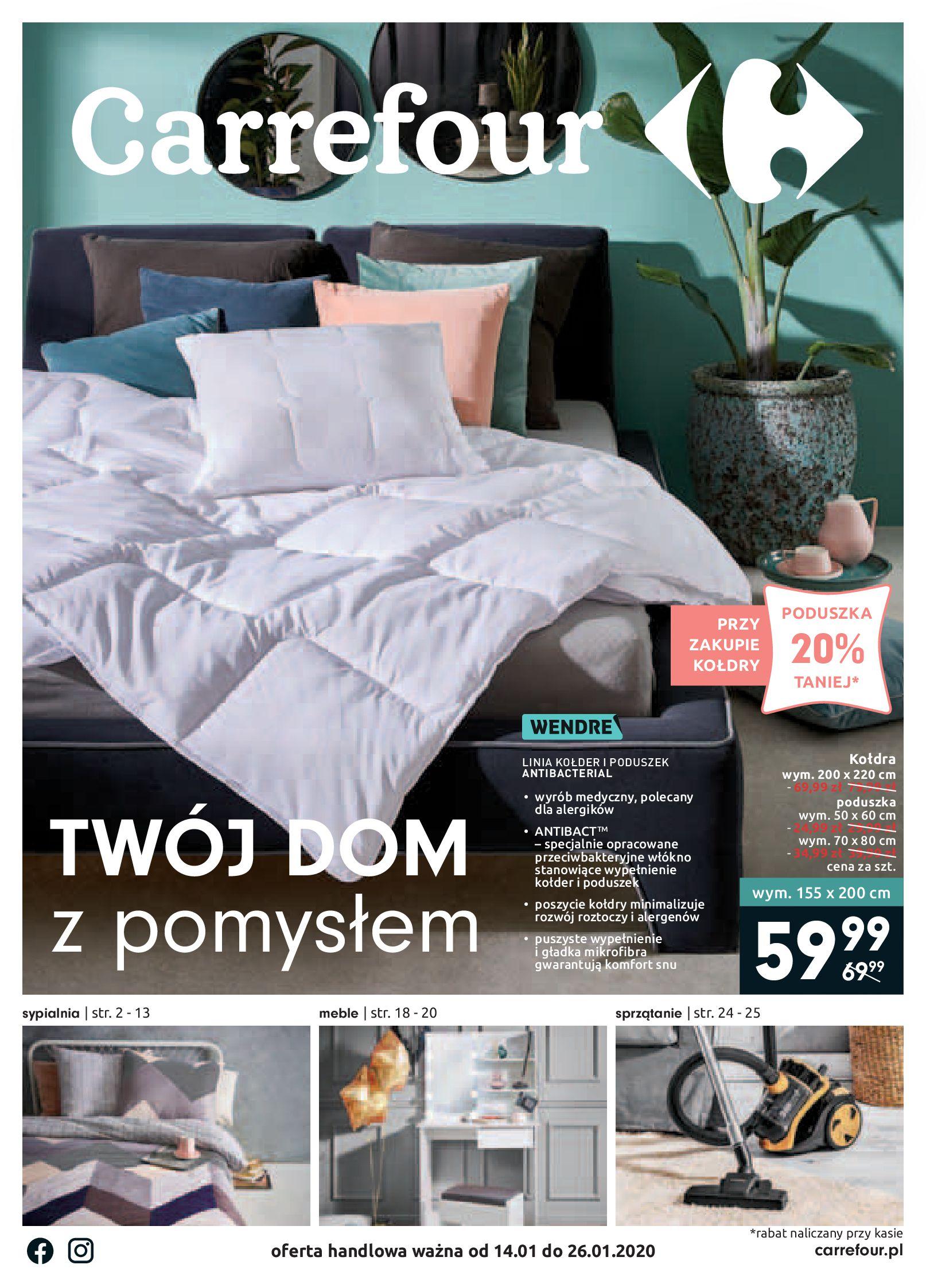 Gazetka Carrefour - Twój dom z pomysłem-13.01.2020-26.01.2020-page-1